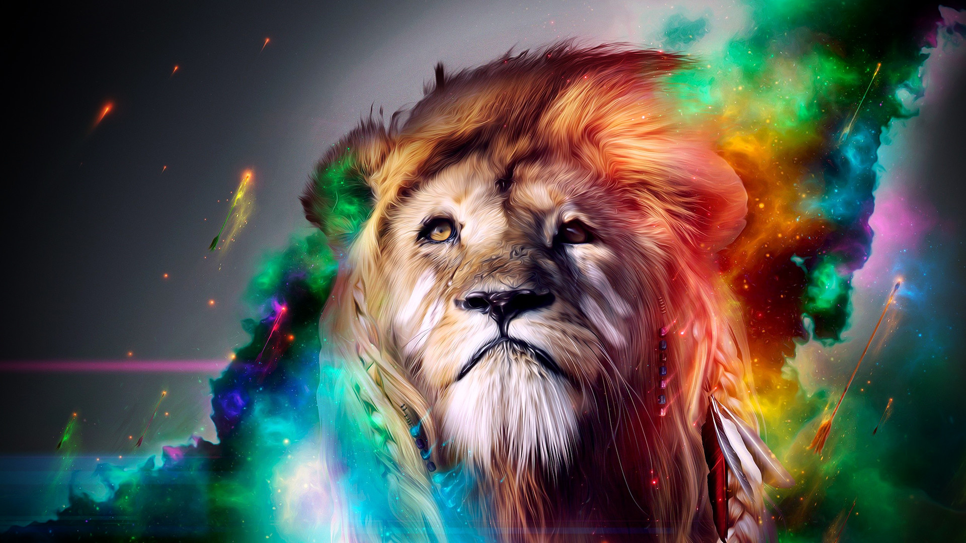 Tiger Abstract wallpaper (1) – hebus.org – High Definition .