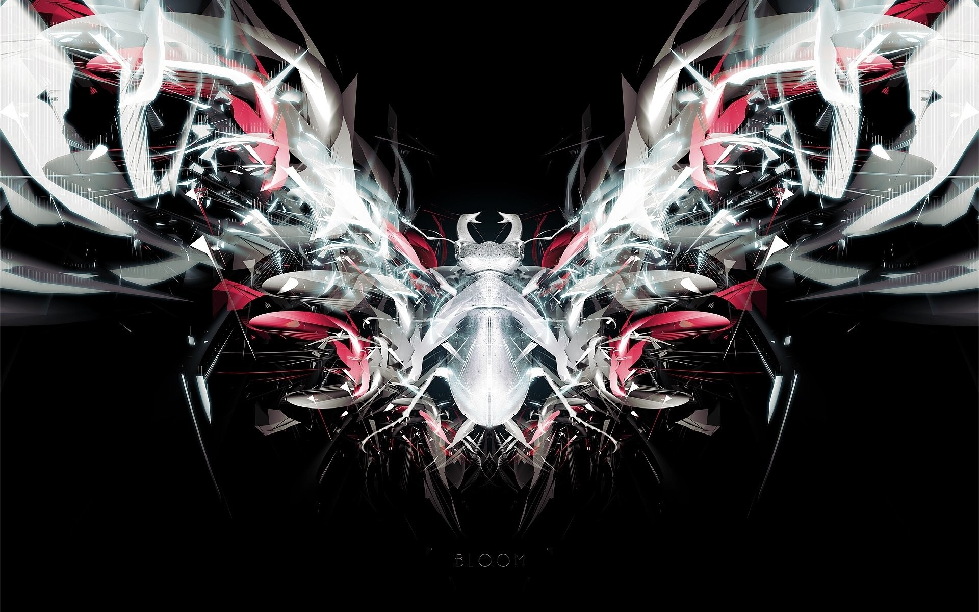Abstract CGI Dark · HD Wallpaper | Background ID:62209