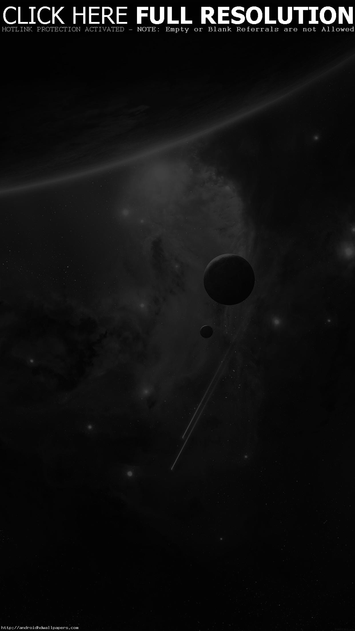 Planets Space Abstract Dark Art Android wallpaper – Android HD wallpapers
