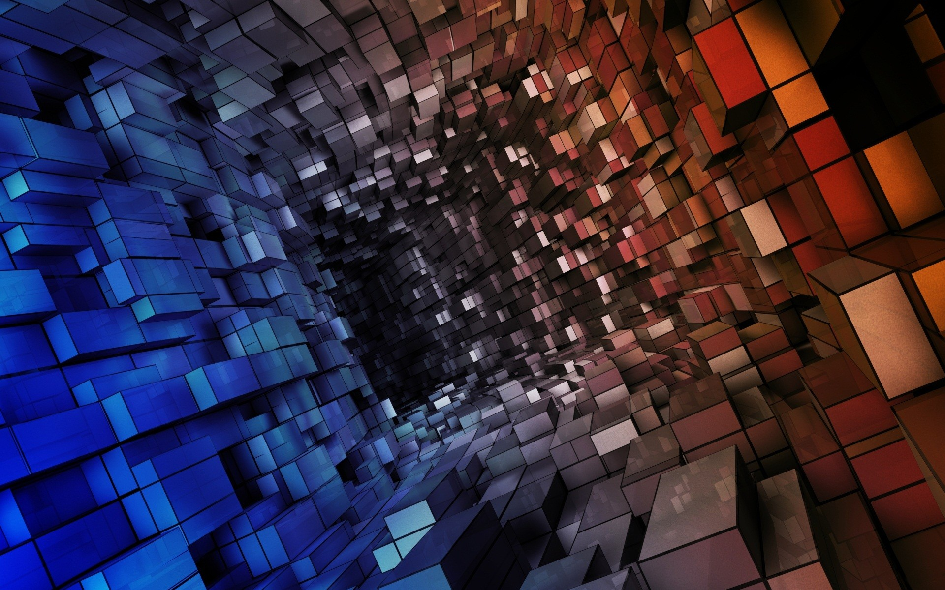 cubes abstract hd wallpapers