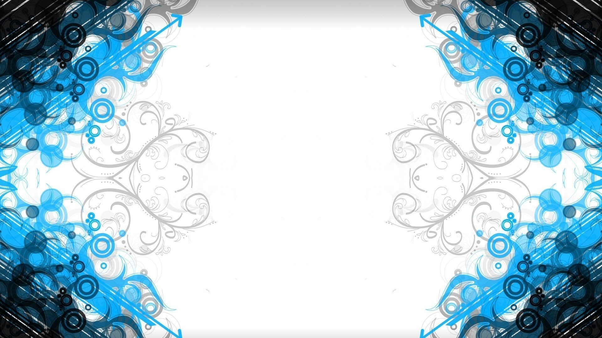 Gallery for – blue white abstract wallpaper