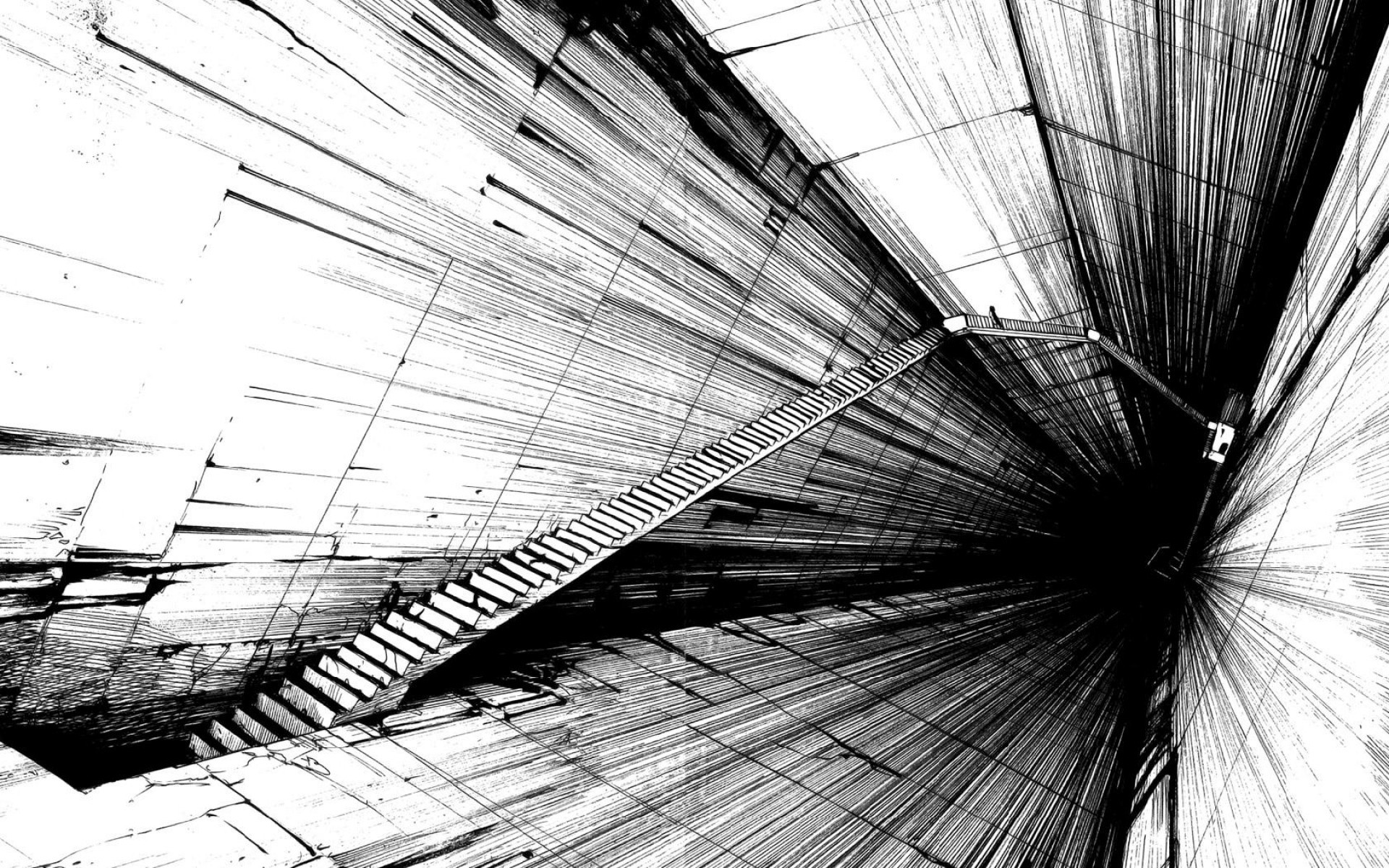 Black And White Abstract Wallpaper – Wallpapers Browse