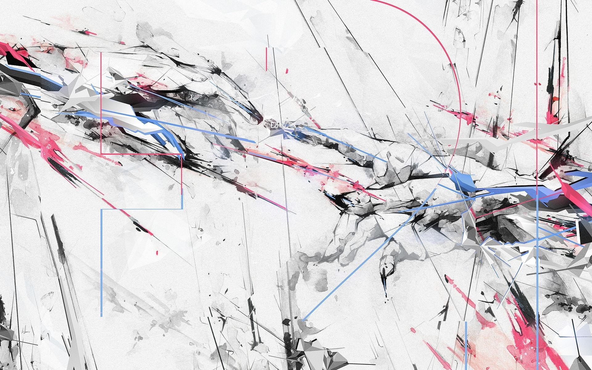 Abstract Painting Black And White HD Wallpapers