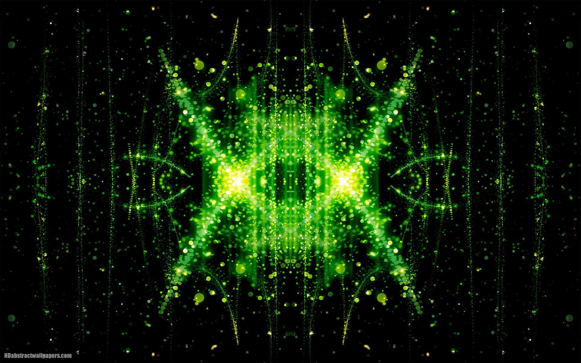Dark abstract green wallpaper
