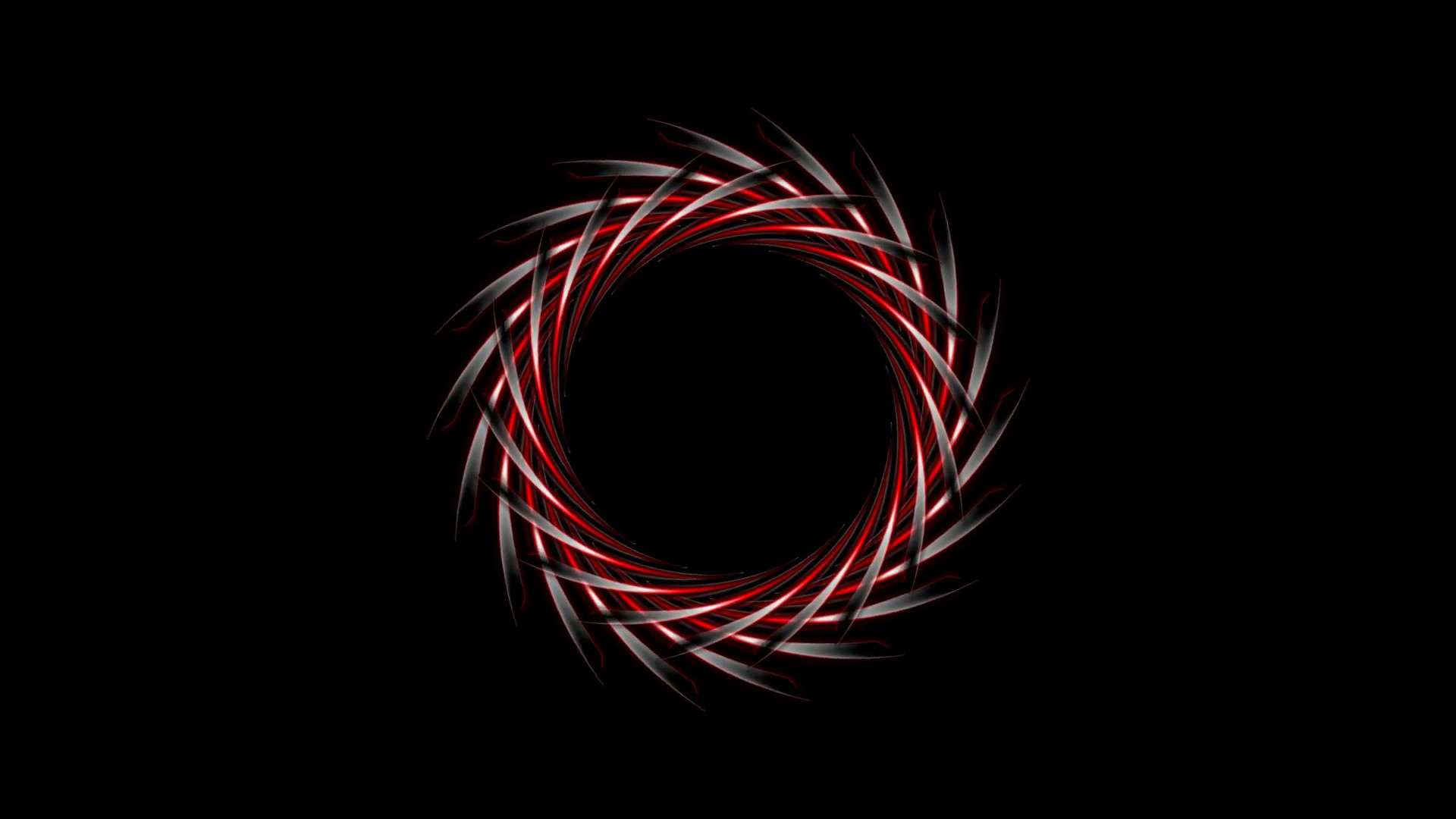 Abstract dark red logo design on black background. Video animation HD  Motion Background – VideoBlocks