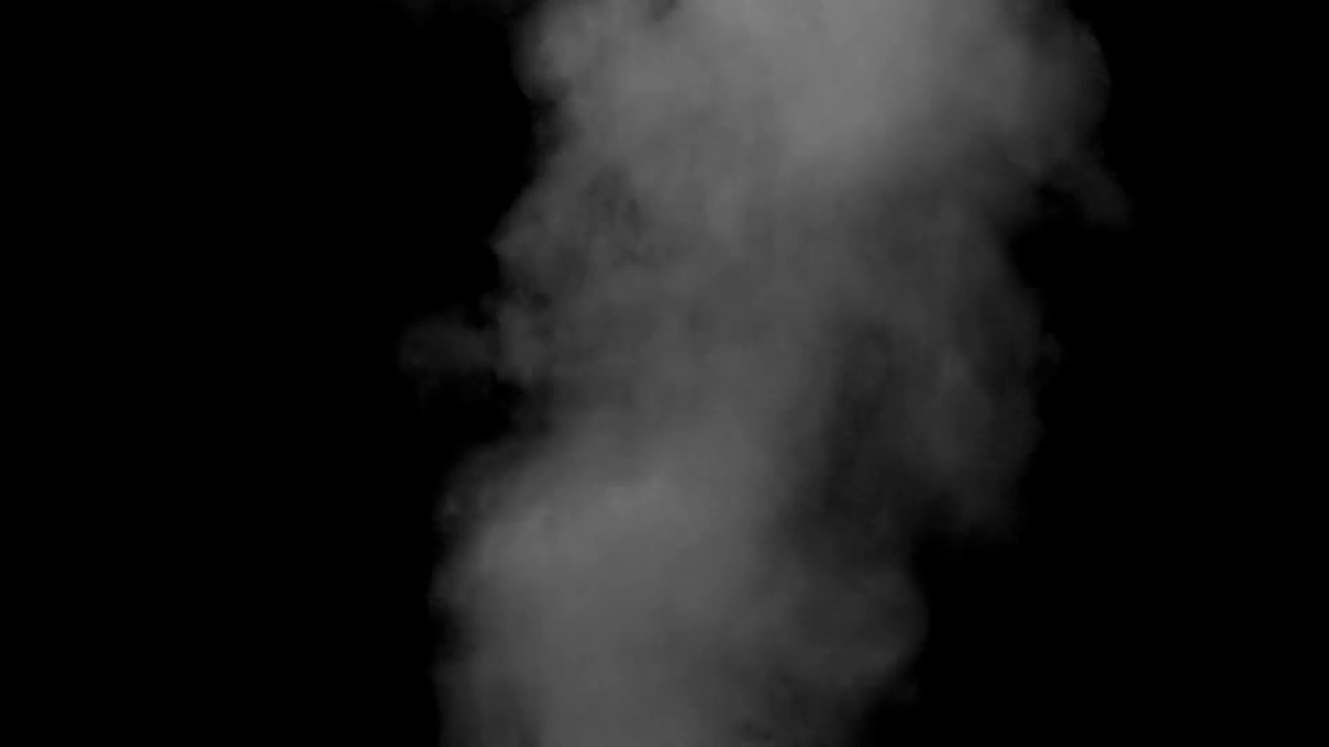 Subscription Library Grey smoke black background steam. Abstract smoke  background, desaturated grey steam shapes rising like