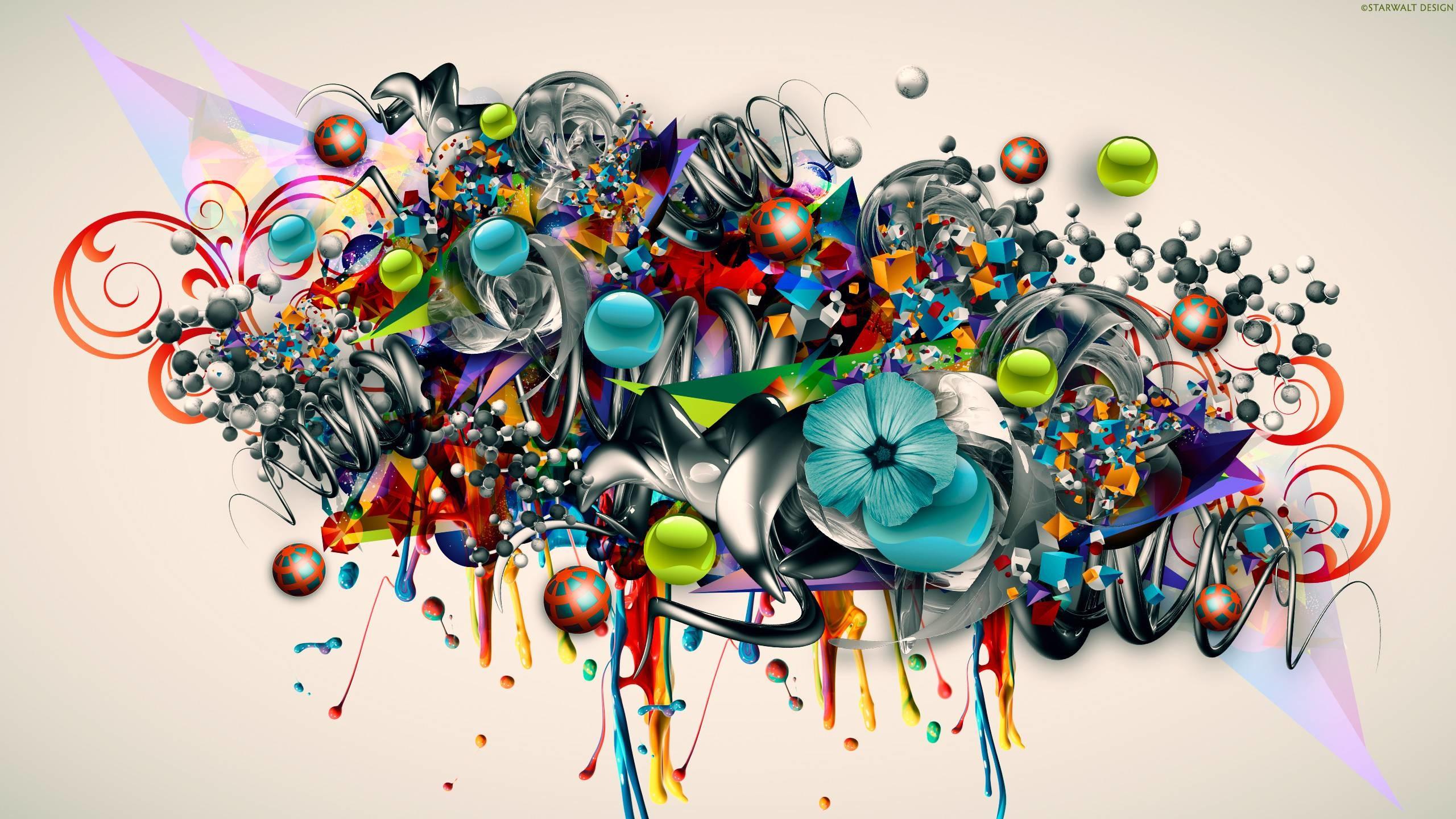 Abstract Graffiti D Wallpaper Awesome Street Art Desktop .