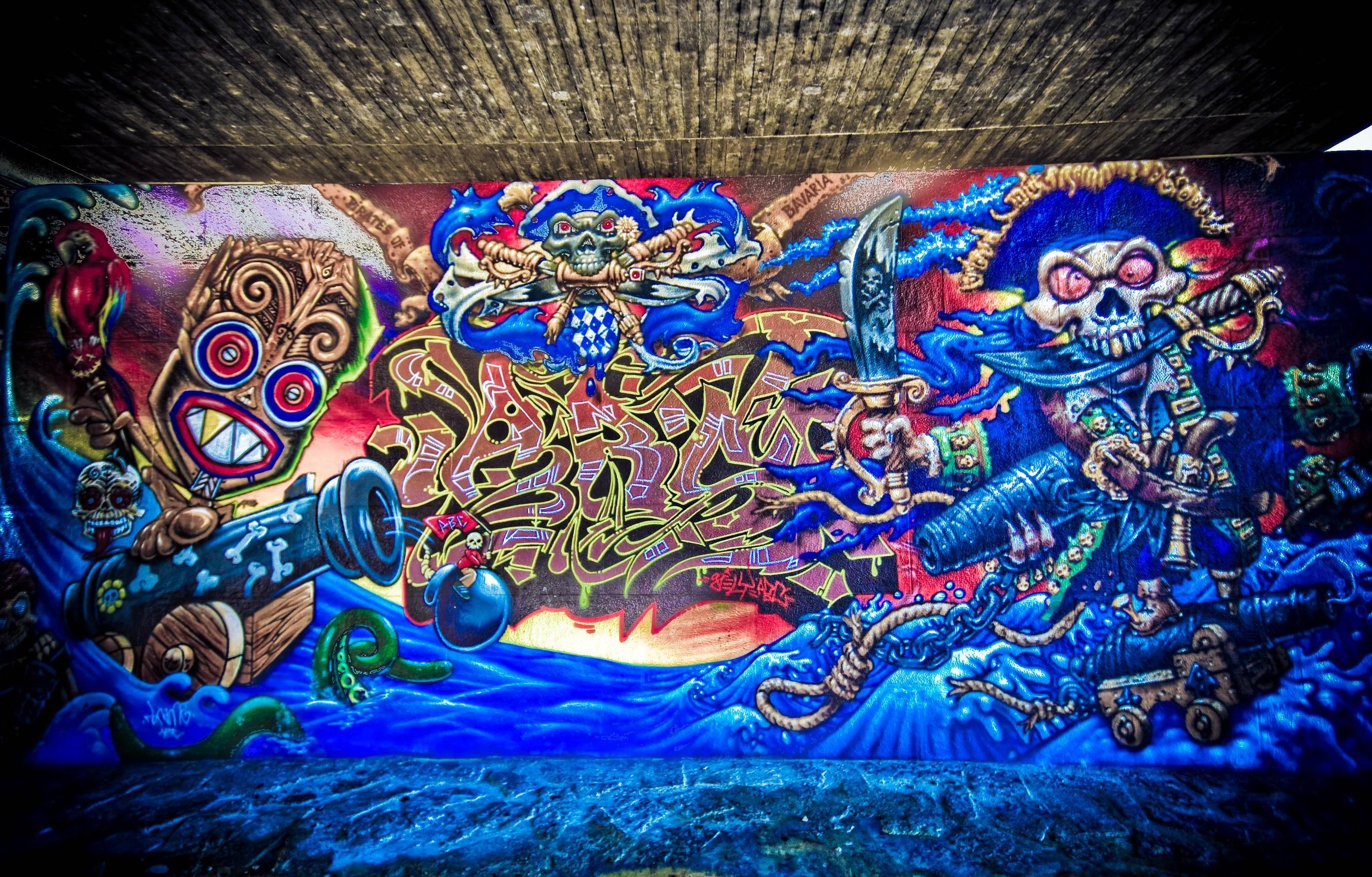 Graffiti Wallpaper Artistic HD Background Amazing