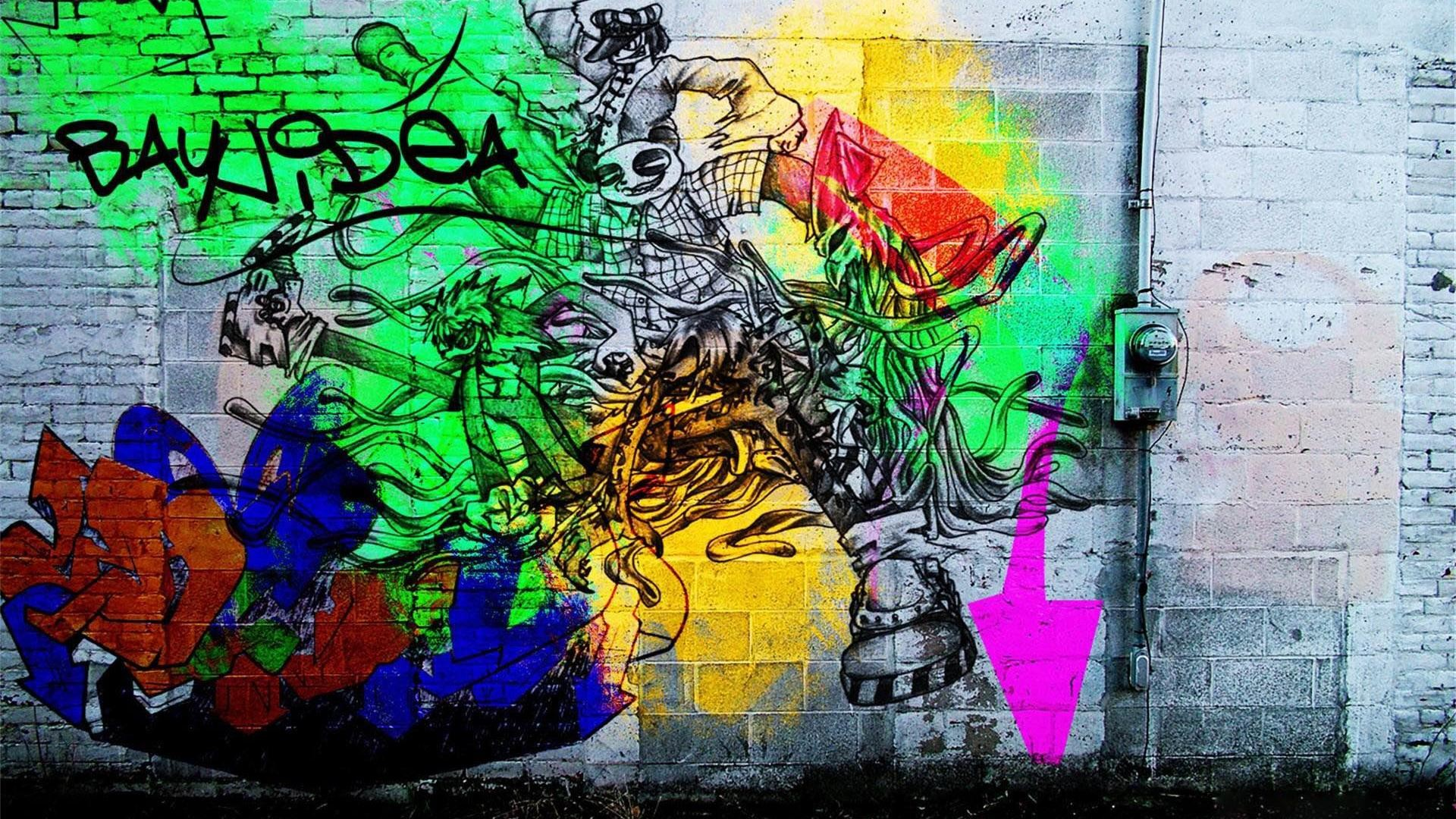 graffiti wallpaper desktops laptop wallpapers images 1920×1080
