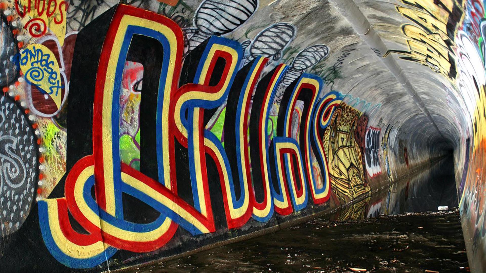 Abstract Graffiti Wallpaper