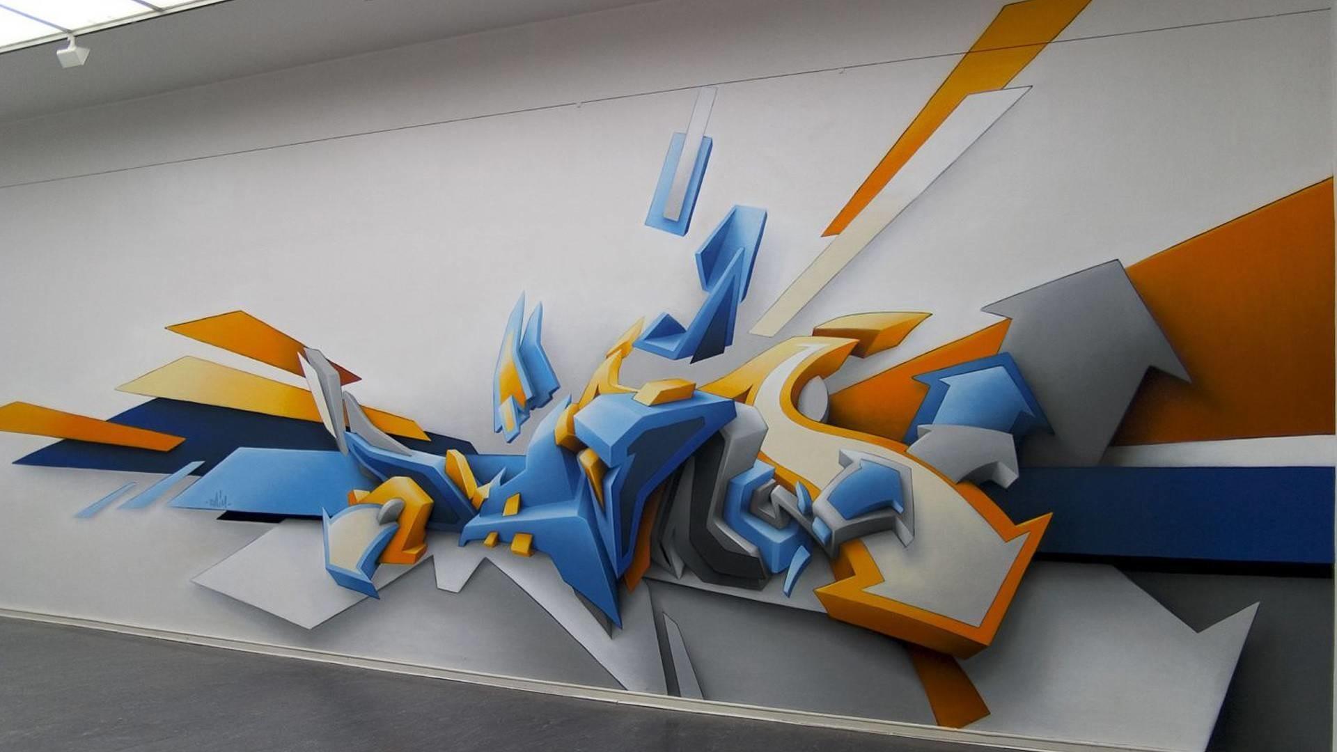 abstract graffiti image wallpaper 1920×1080