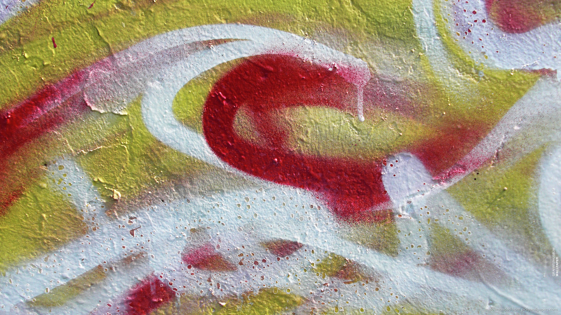 Abstract graffiti picture