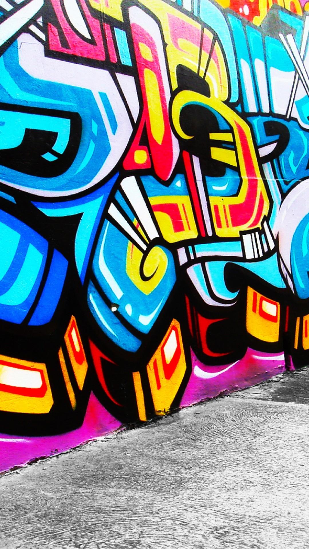 Graffiti Mobile Phone Wallpaper