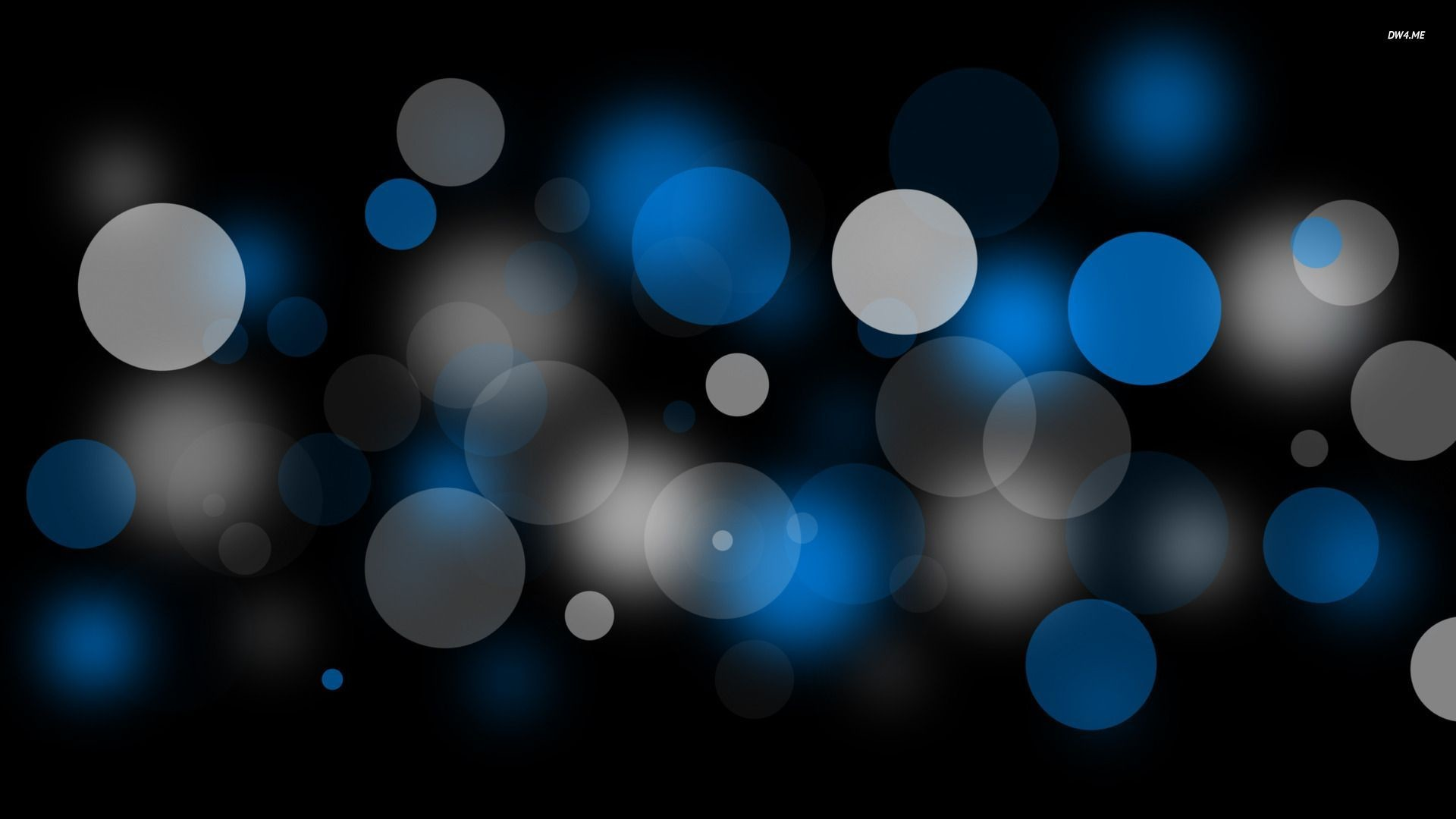 Blue and white bubbles wallpaper – Abstract wallpapers – #805