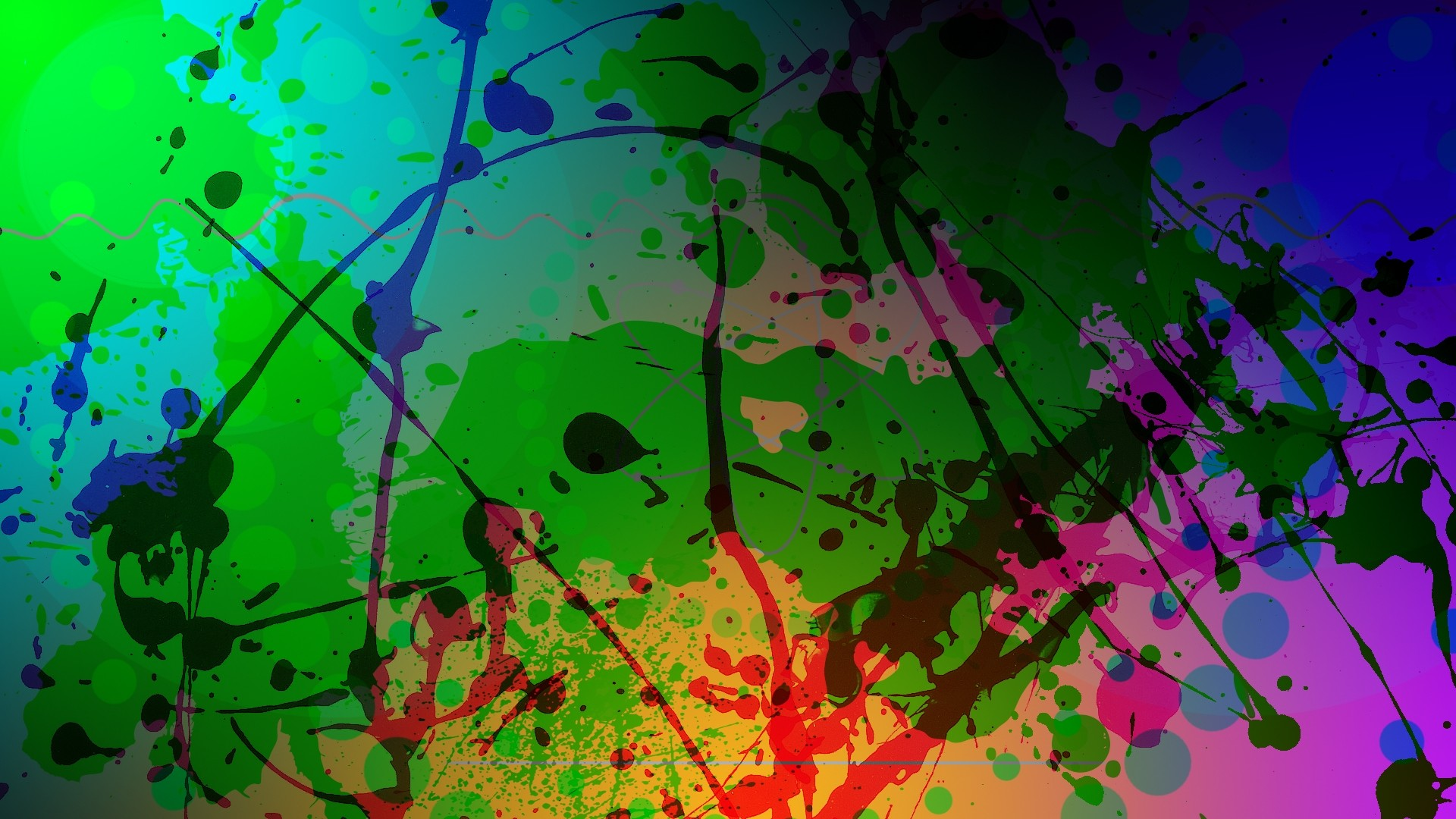 Wallpaper abstract, colorful, blur