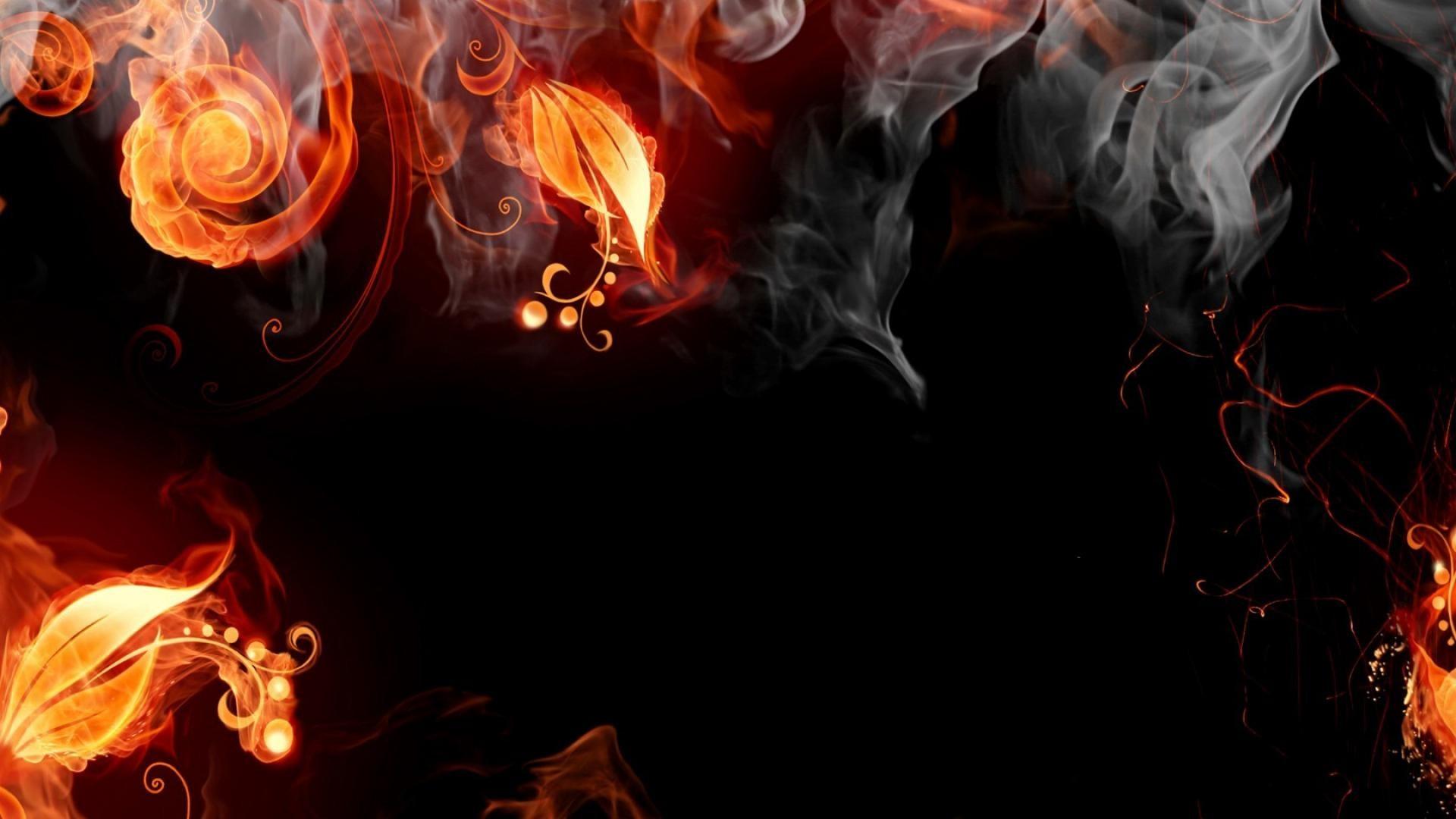 Abstract fire artwork wallpaper | (565)