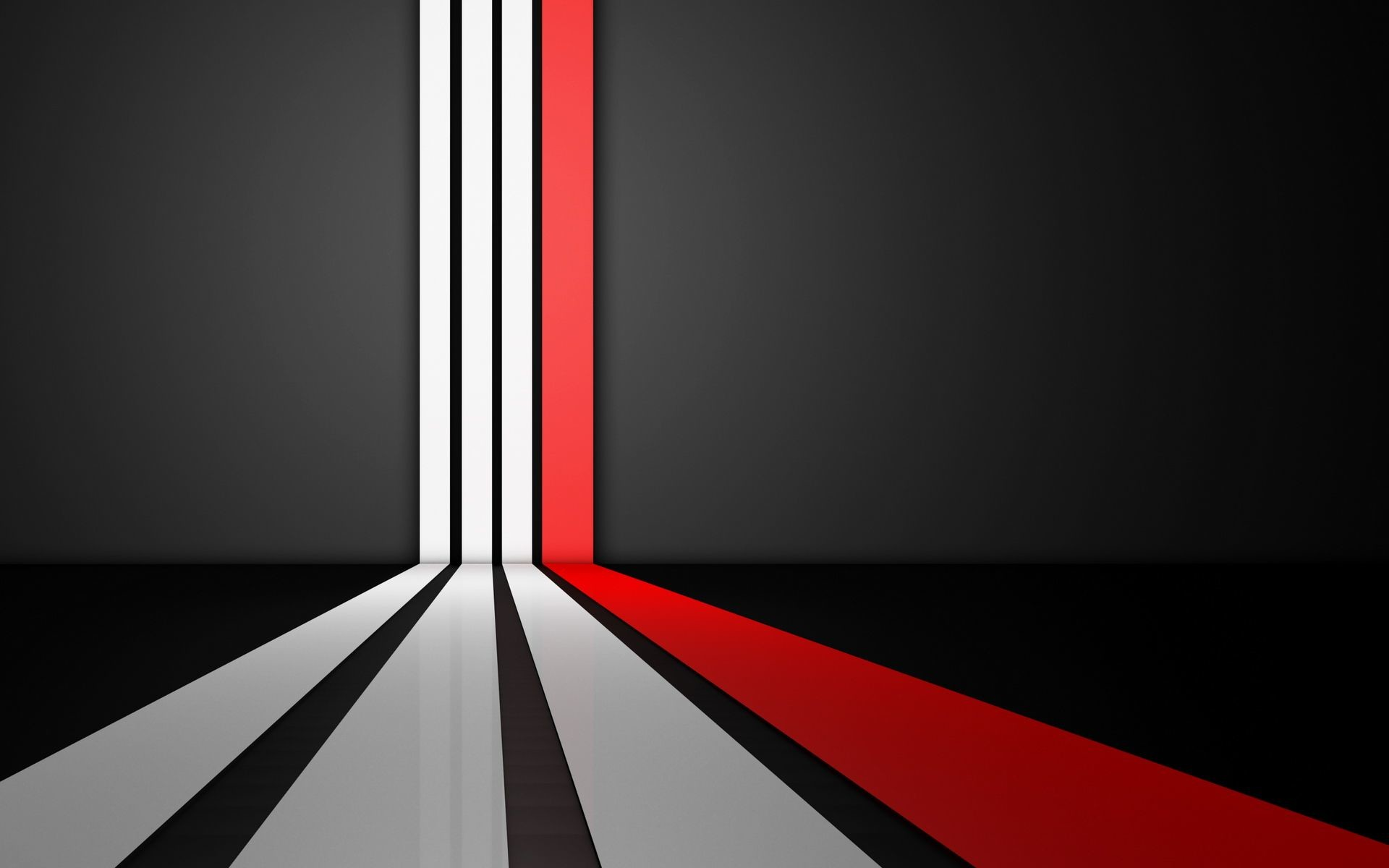 Black And White And Red Abstract Wallpapers