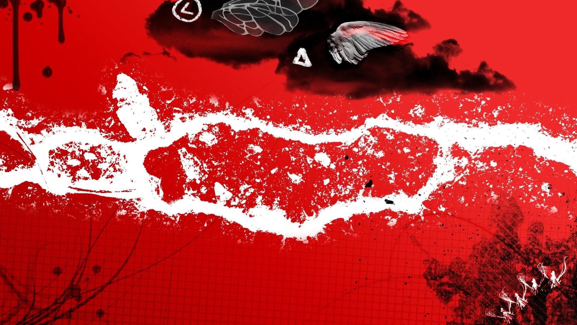 Black And Red Abstract · abstract black red backgrounds arts