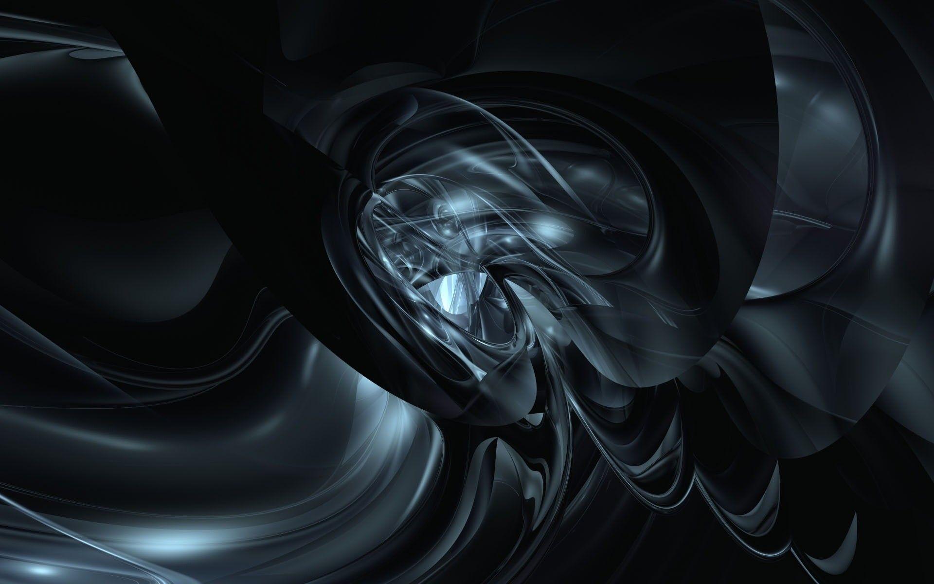 Black And Silver Abstract Wallpaper – ImgMob