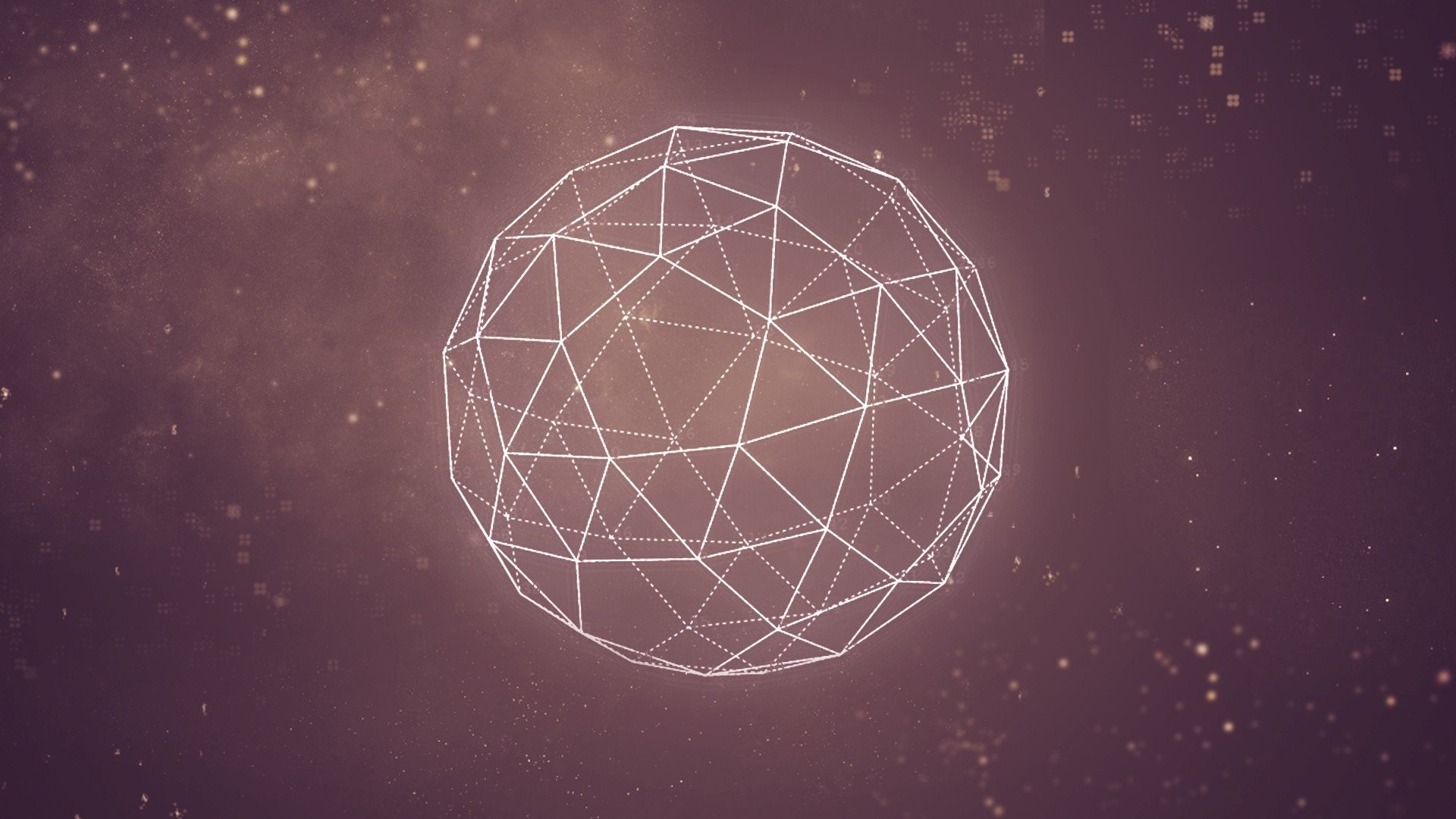 Space Abstract Graphic Geometry Minimalistic Pink Outers …