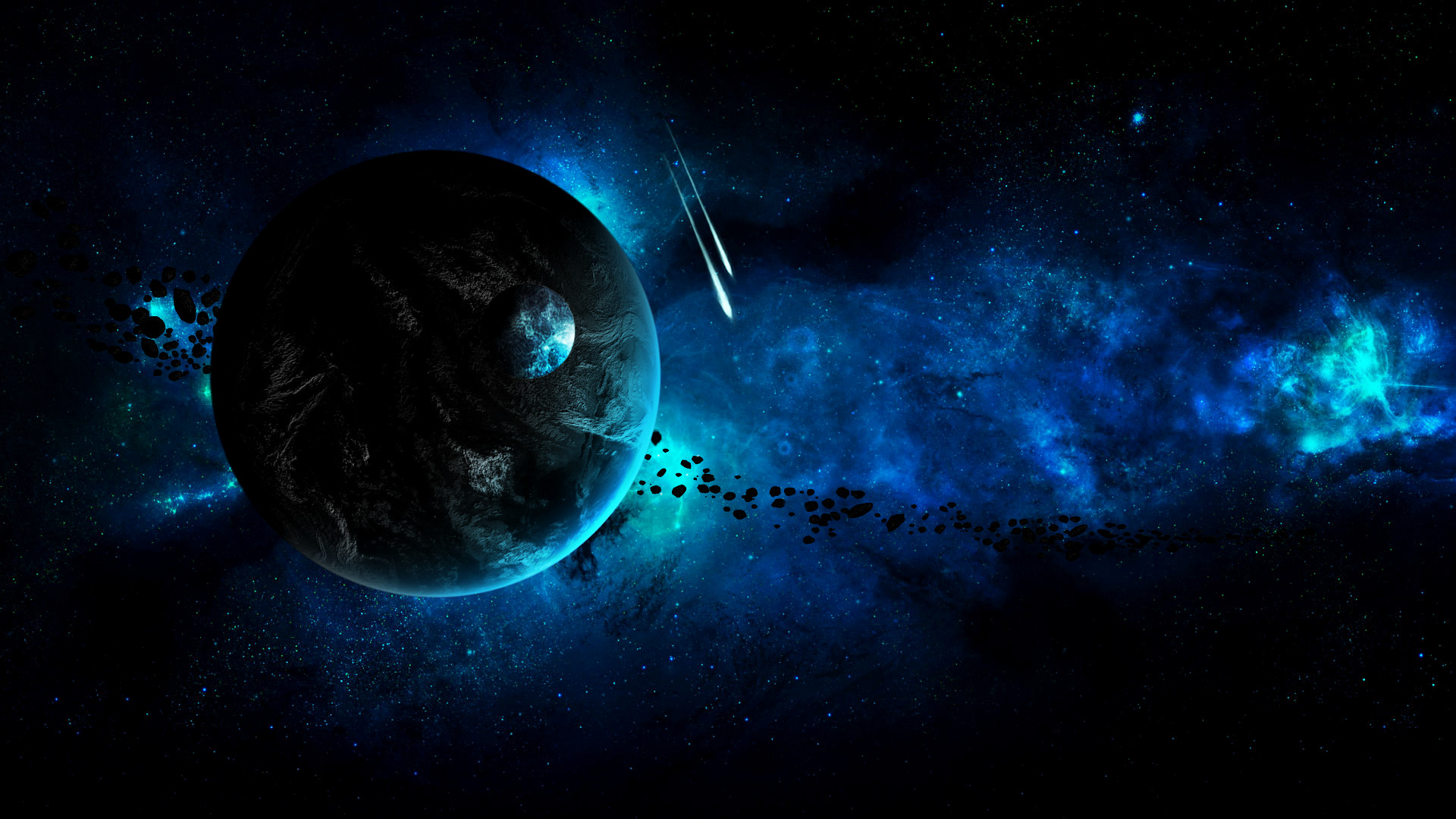 Gallery for – abstract space background