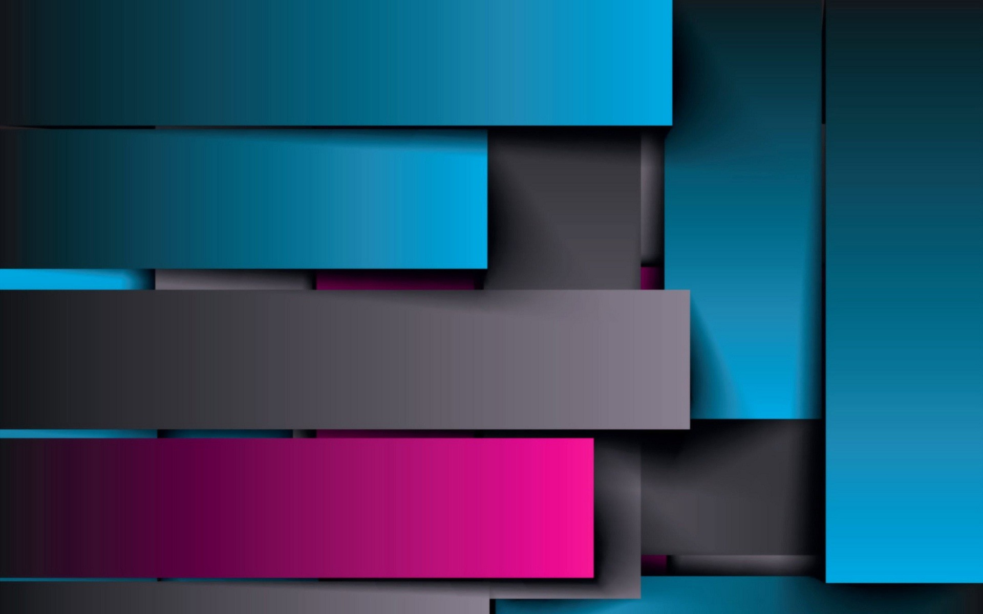 Shodow shine blue and pink abstract wallpaper