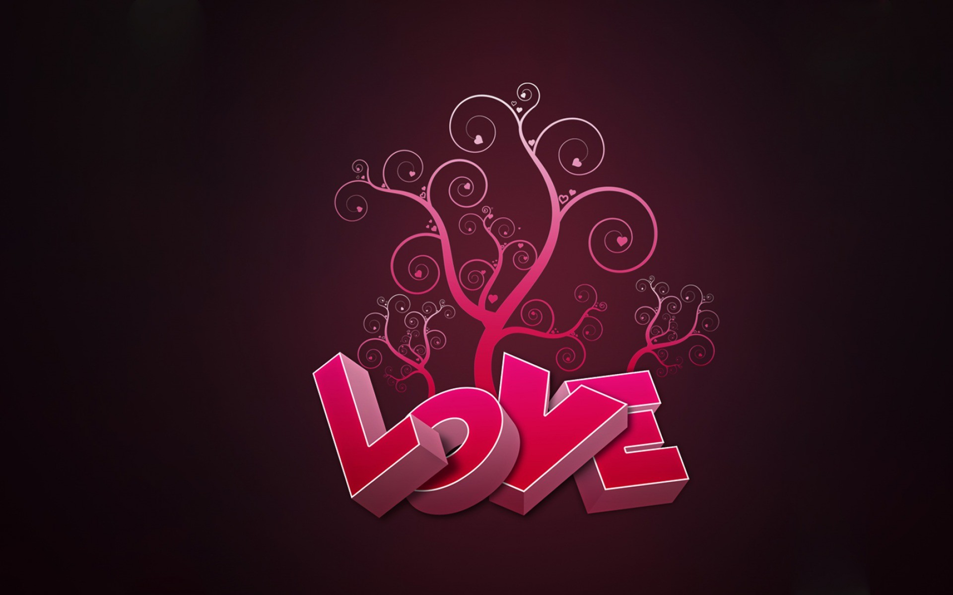 Love Grows Pink Abstract wallpapers and stock photos