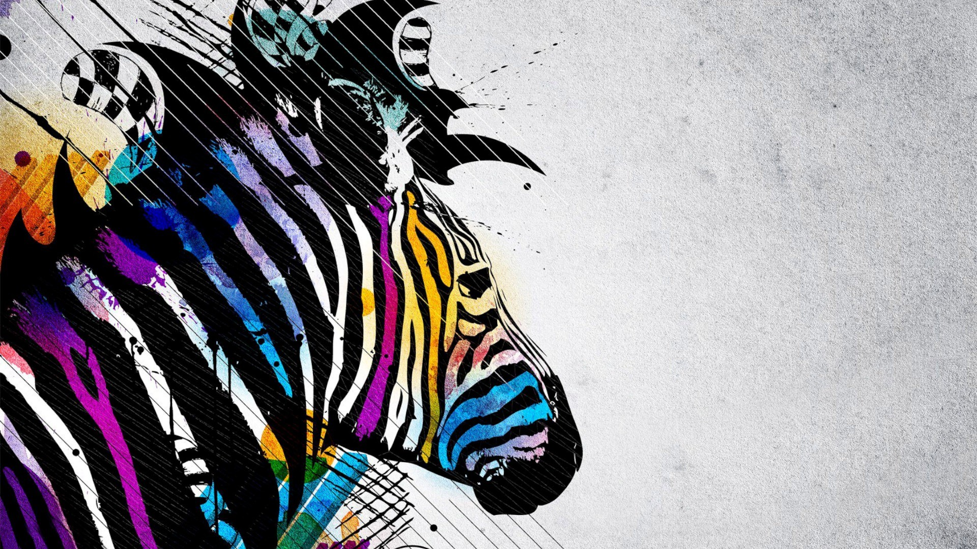 Zebra 3D Abstract Wallpaper