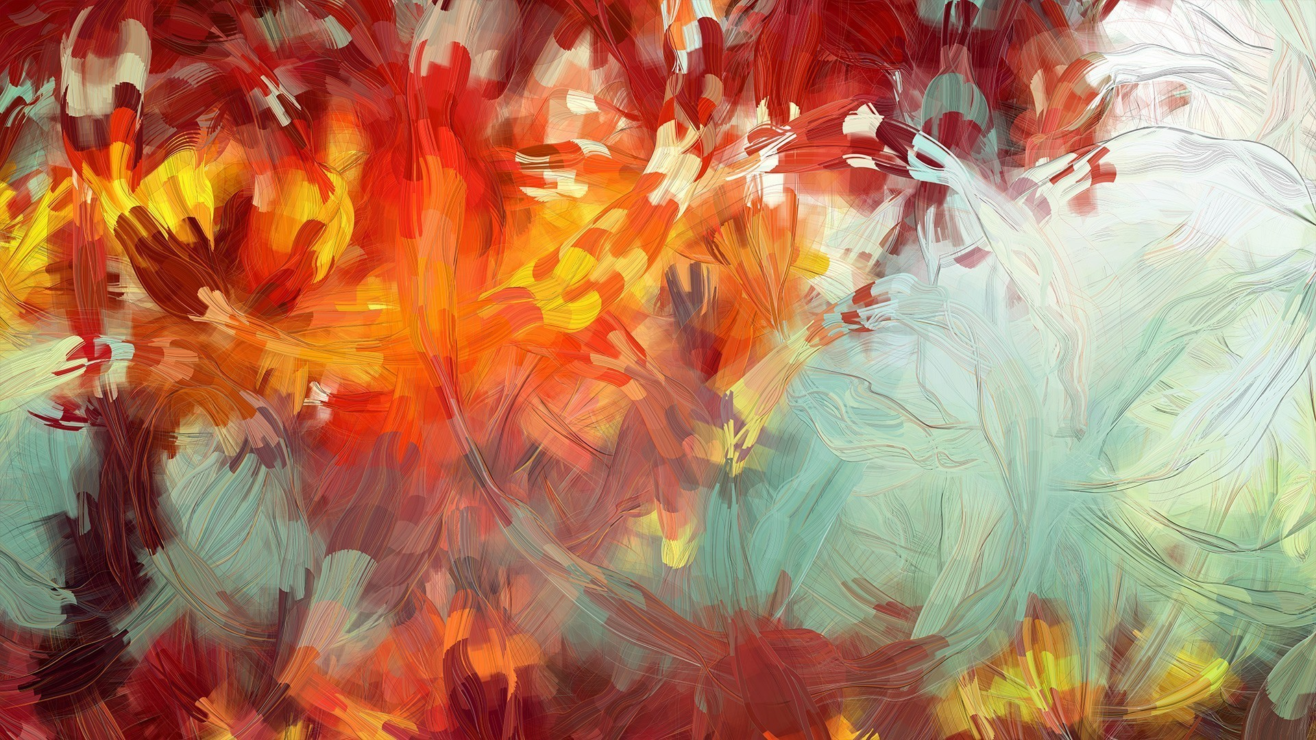 Finger Painting HD desktop wallpaper Widescreen High