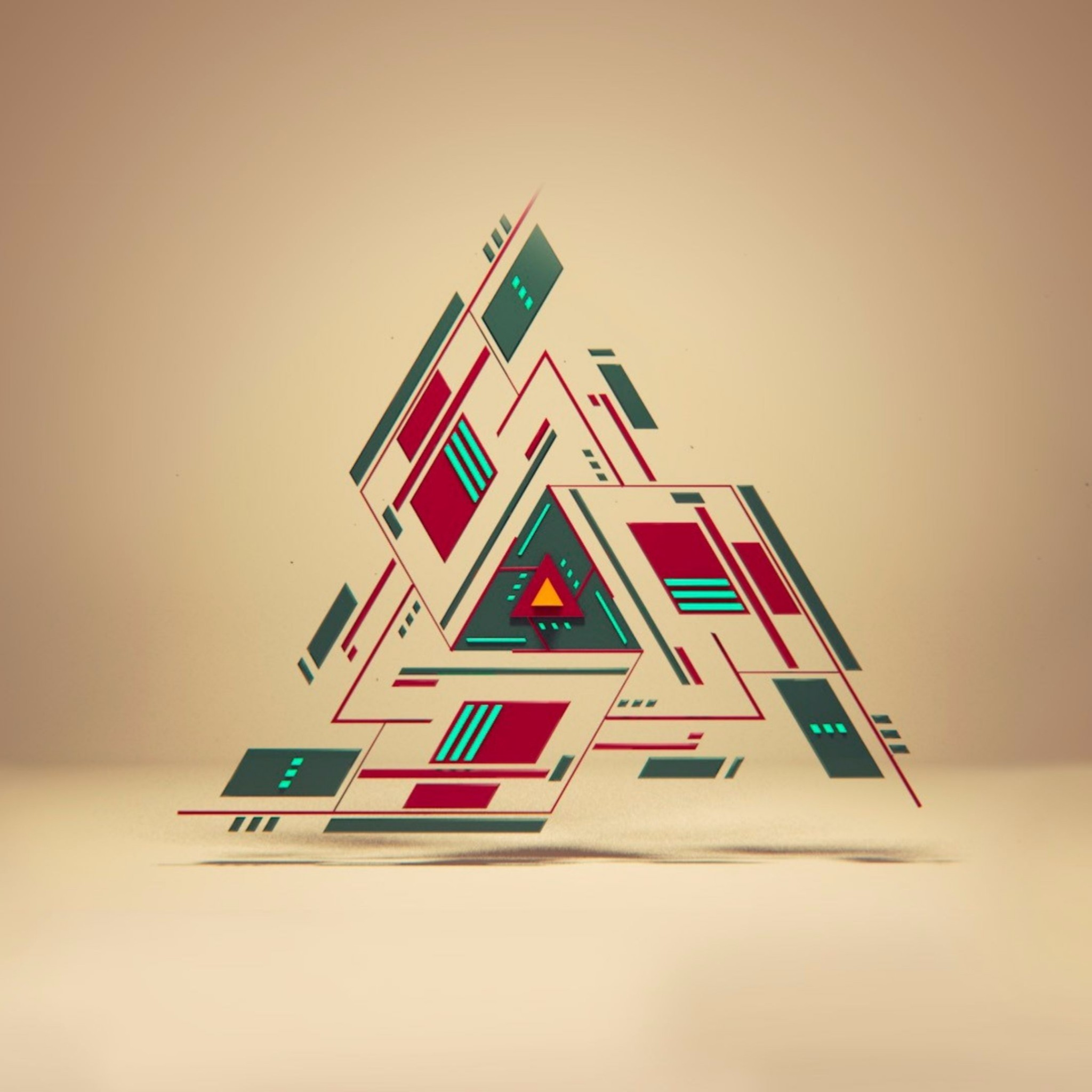 Related to Digital Triangle 4K Abstract Wallpapers