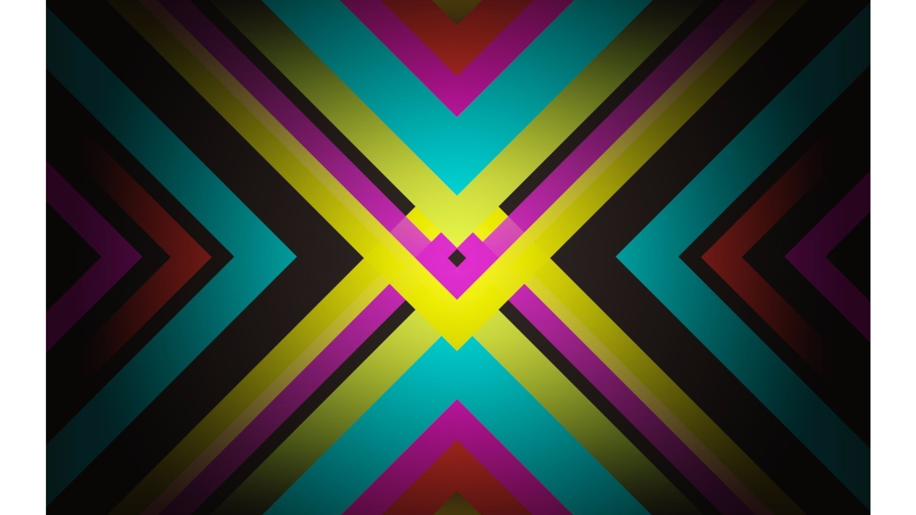 X Marks the Spot 4K Abstract Wallpapers