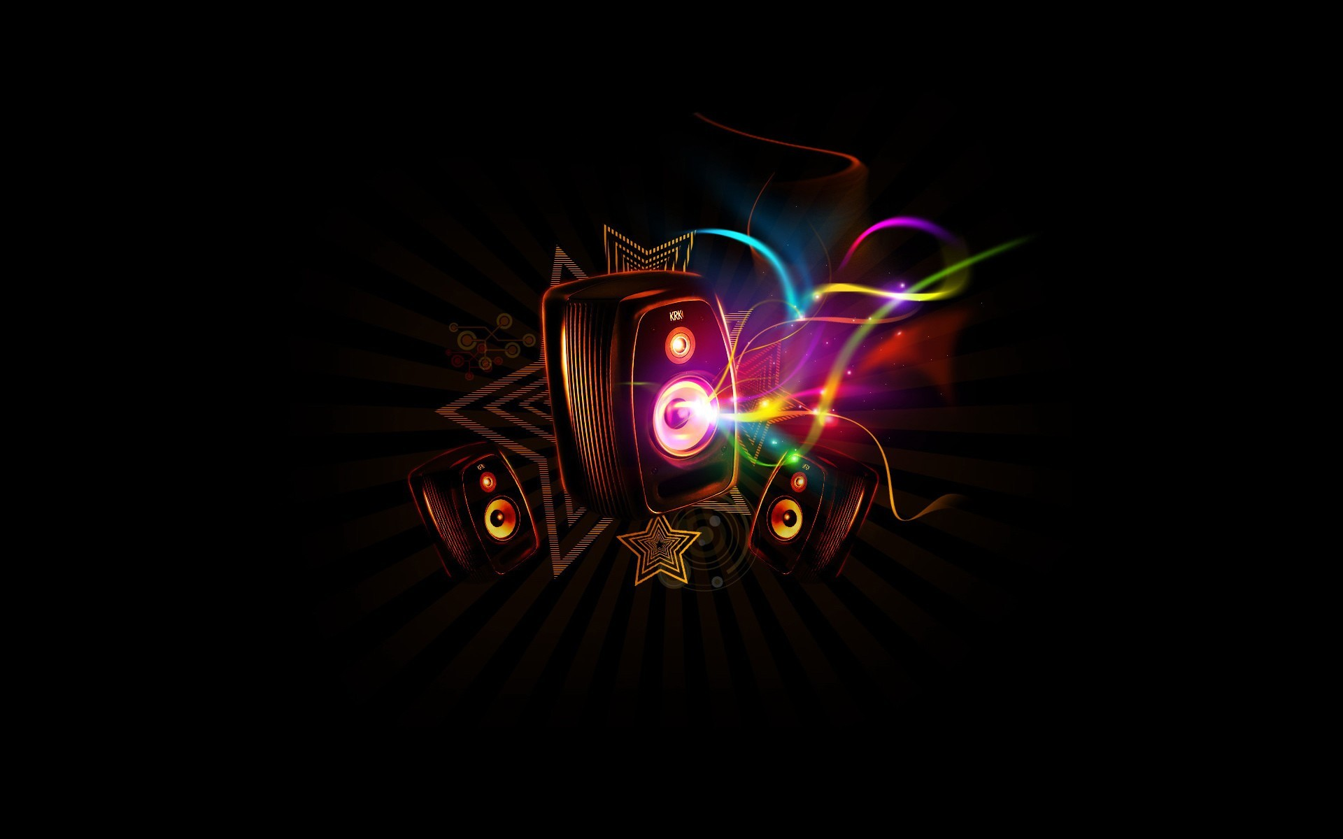 Music Abstract. Music Abstract Desktop Background