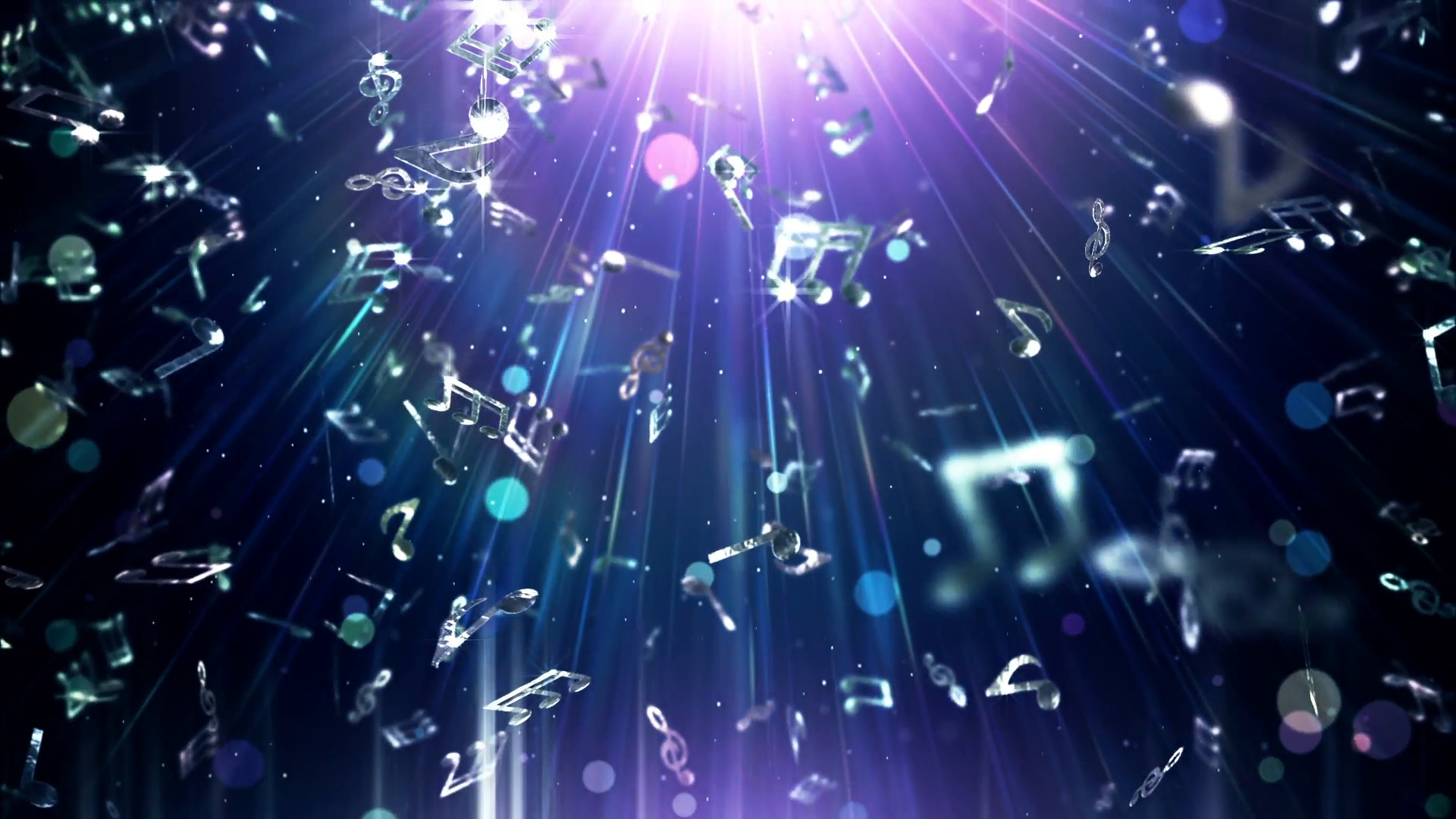 Subscription Library Music Notes Abstract Background