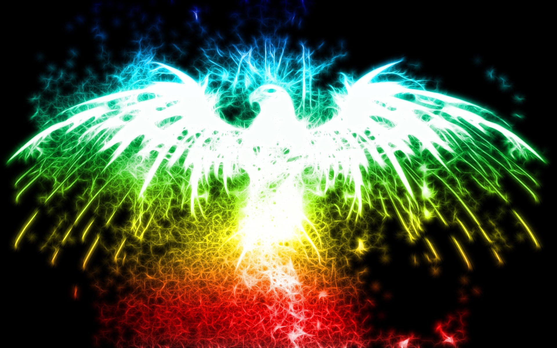 Abstract Bird Widescreen Awesome Abstract Backgrounds Music