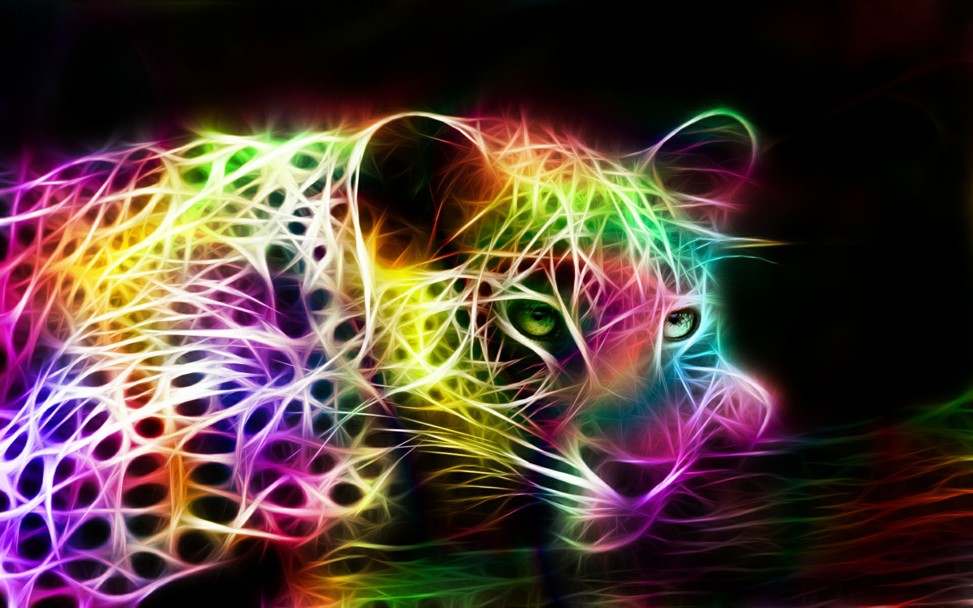 Free 3d abstract rainbow music wallpapers hd download