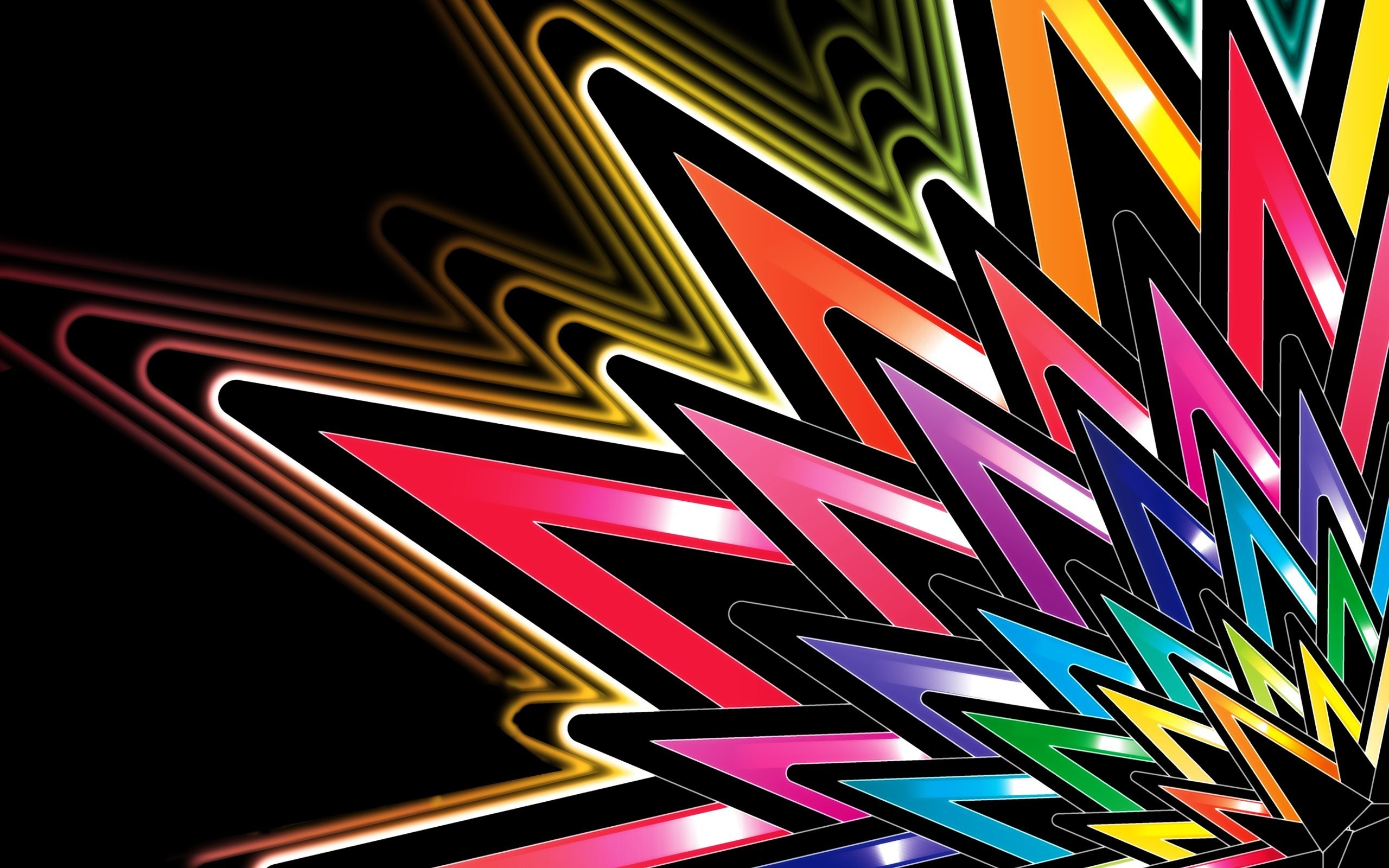 Colorful Abstract Art | Bright Colors Abstract 2560×1600 Wallpaper