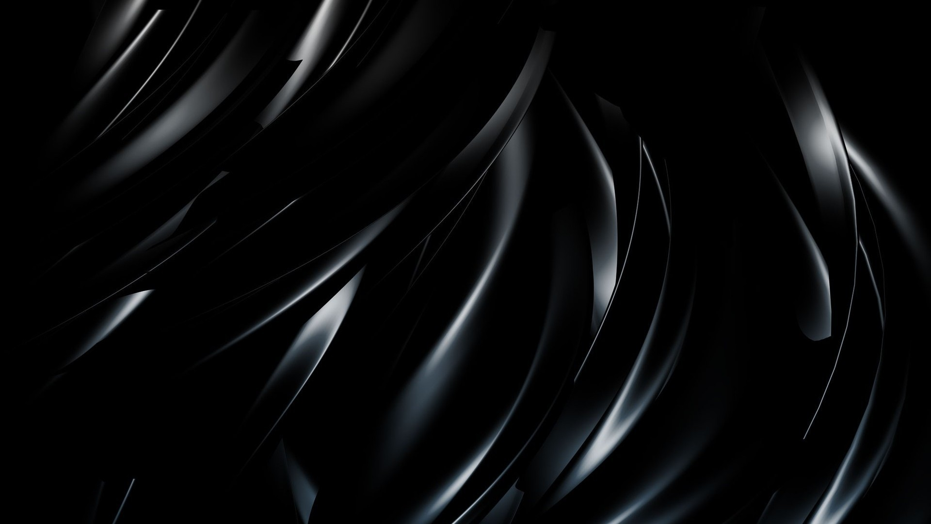 3D Black Abstract Wallpapers