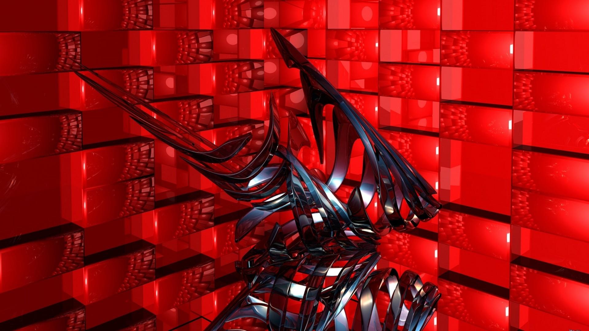 Wallpaper abstract, 3d, art
