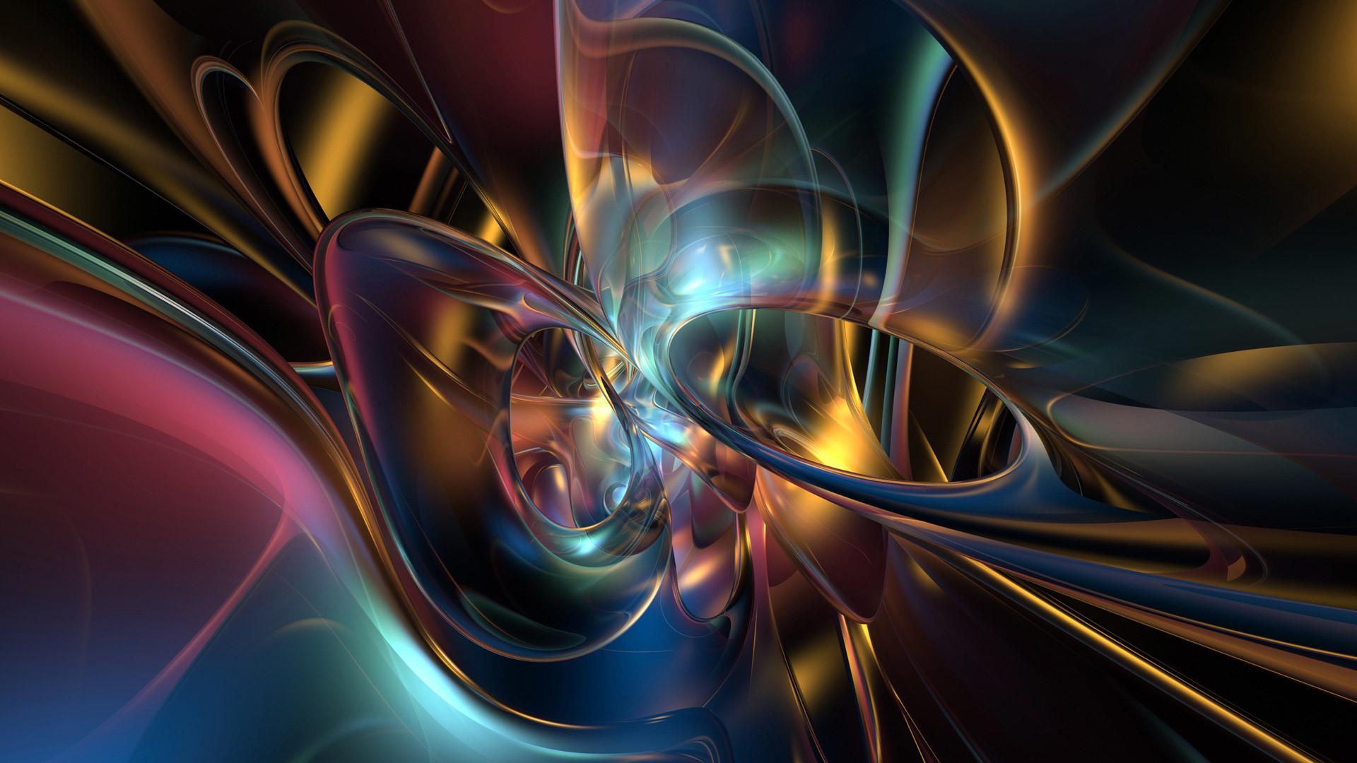 3D Abstract Screensavers 28 Widescreen Wallpaper