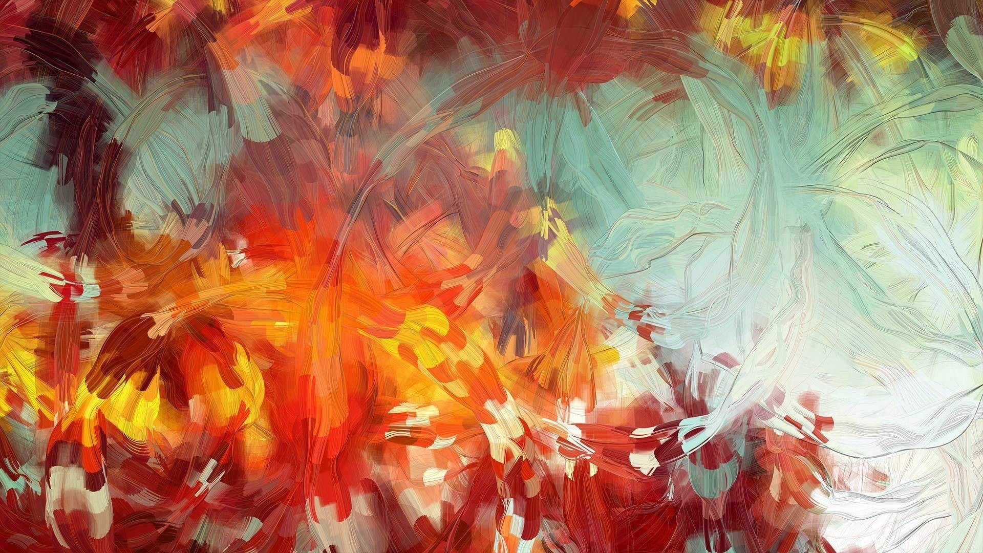 Abstract Paintings 1920×1080 Wallpaper 2174723