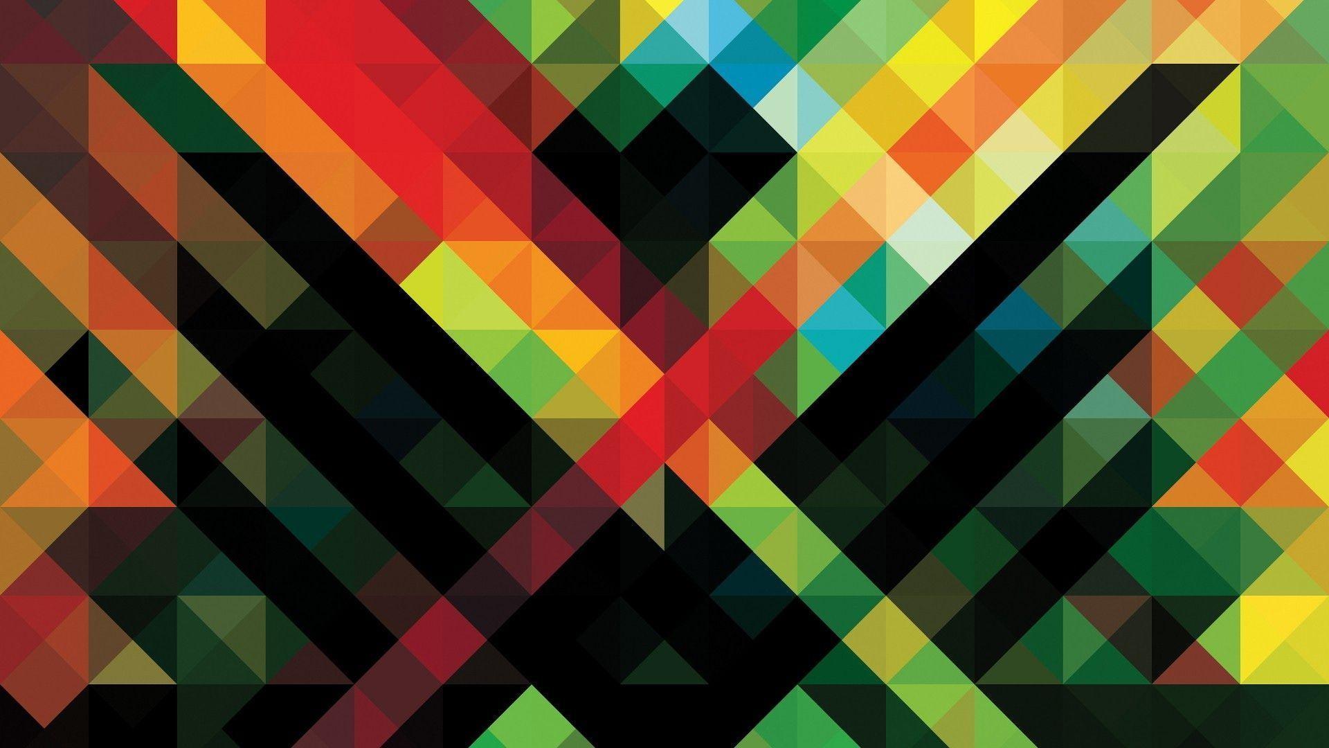 Abstract Geometric Wallpaper 184 – uMad.com