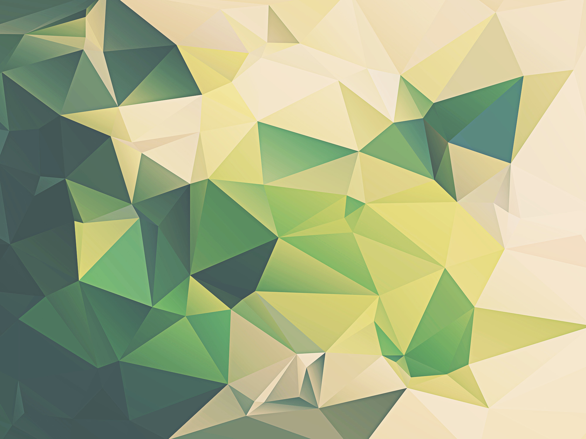 px Green Geometric Desktop Wallpapers