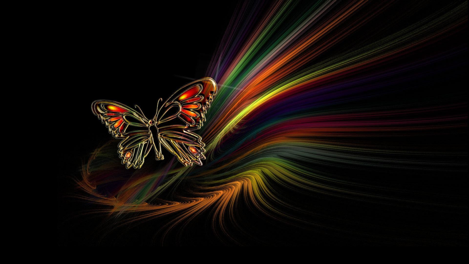 Butterfly Abstract HD Wallpaper Cool   Unique HD Wallpapers