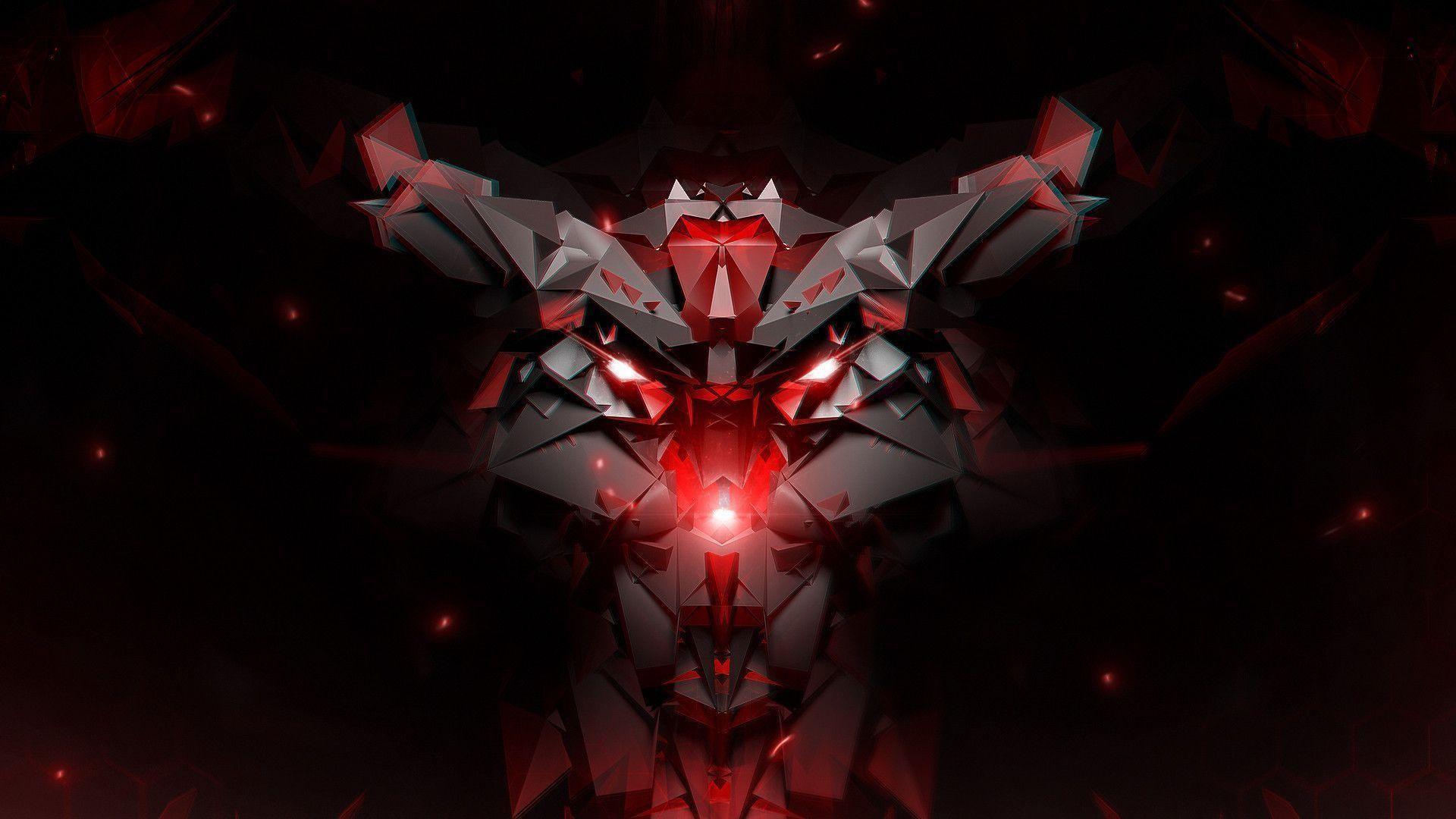 Dark Red Abstract Desktop HD Wallpaper Desktop – Beraplan.