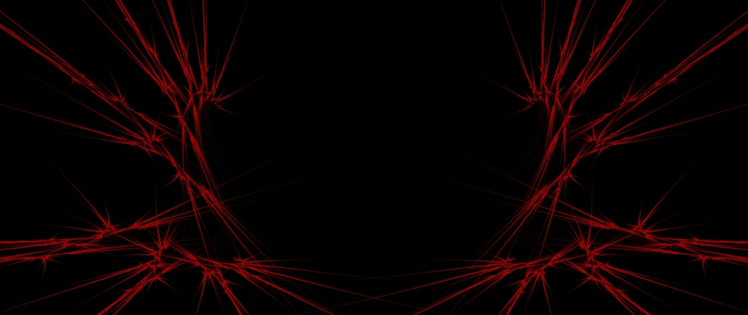 Preview wallpaper red, black, abstract 2560×1080