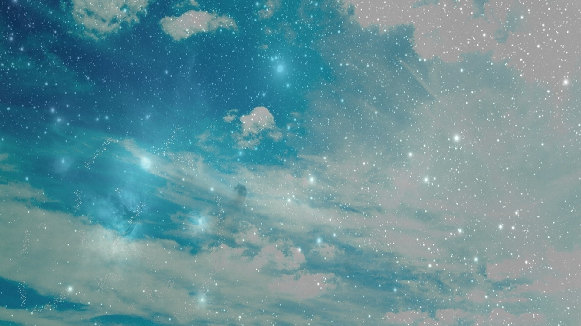 Preview wallpaper sky, stars, background, bright, abstract 1920×1080