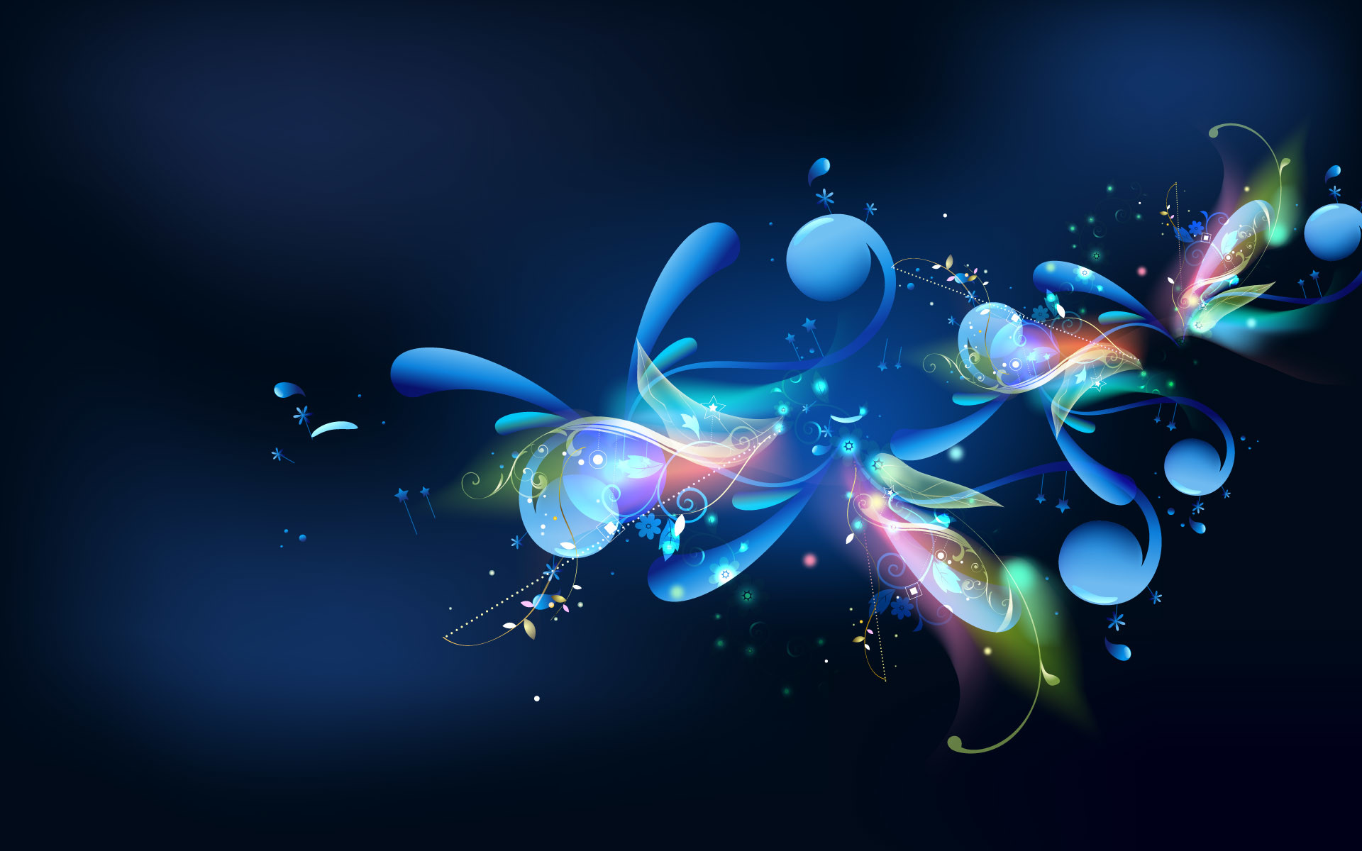 54 Blue Abstract Wallpaper For Pc