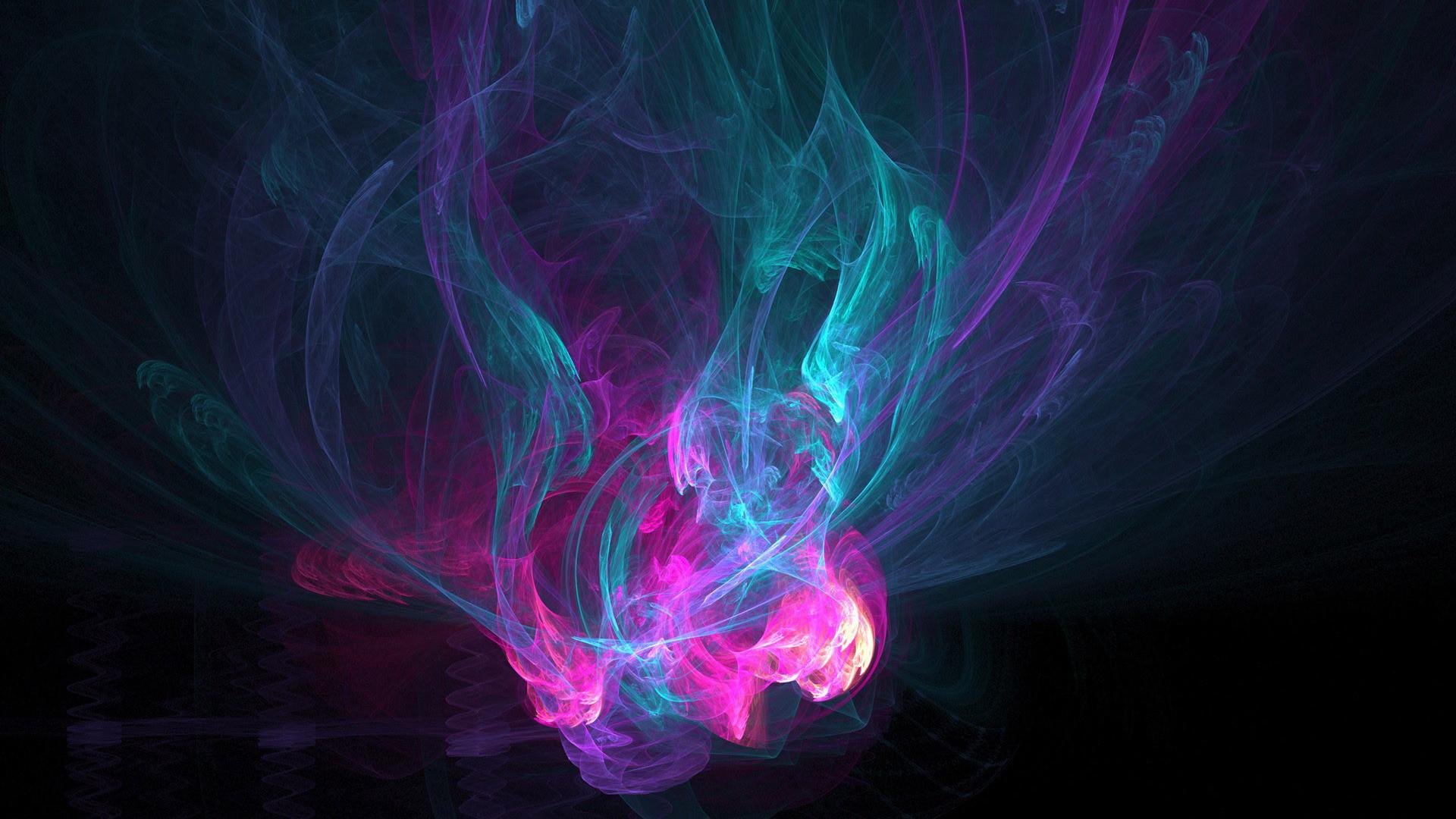Neon smoke HD Wallpaper Neon …