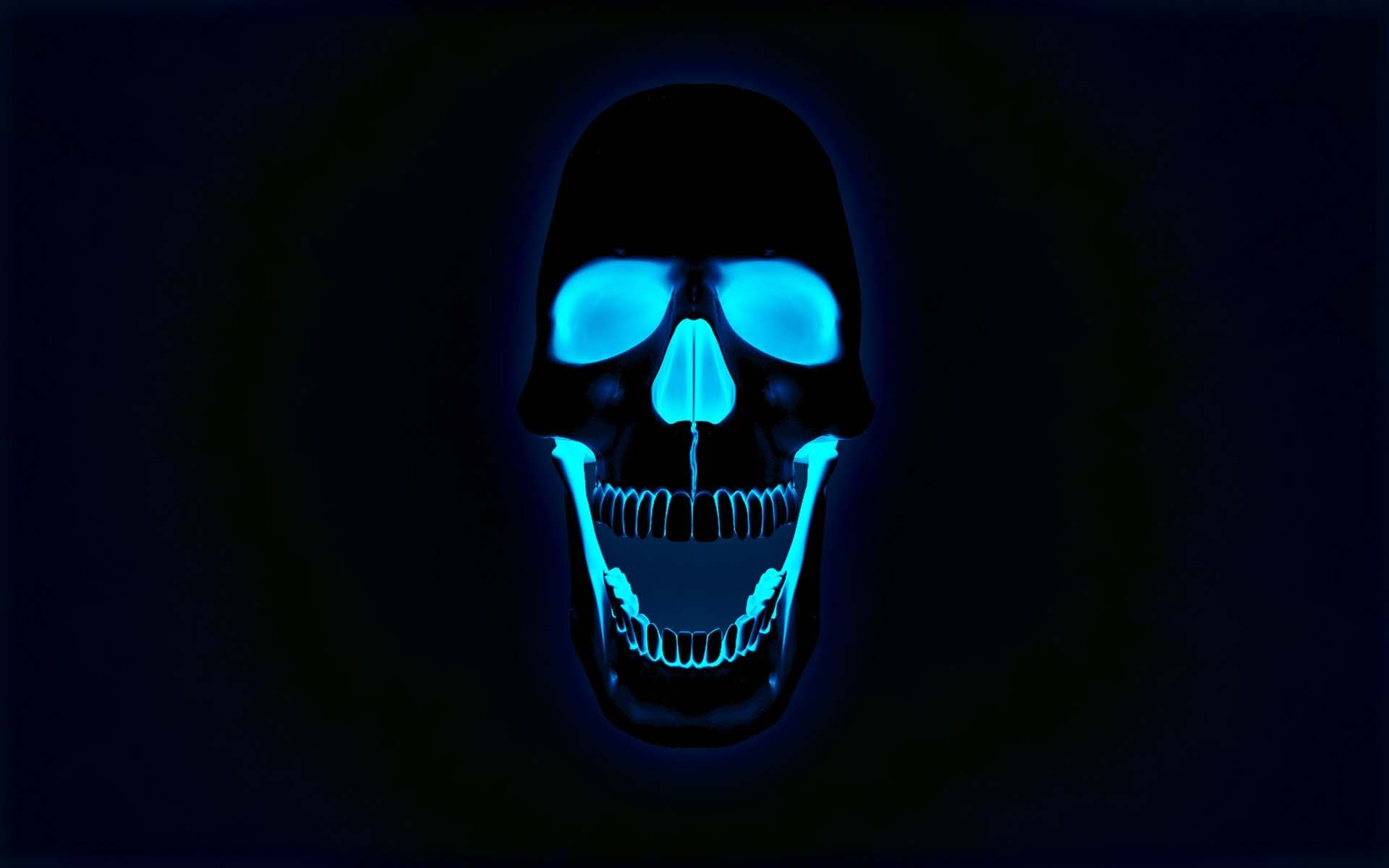The Neon Skull | HD 3D and Abstract Wallpaper Free Download …