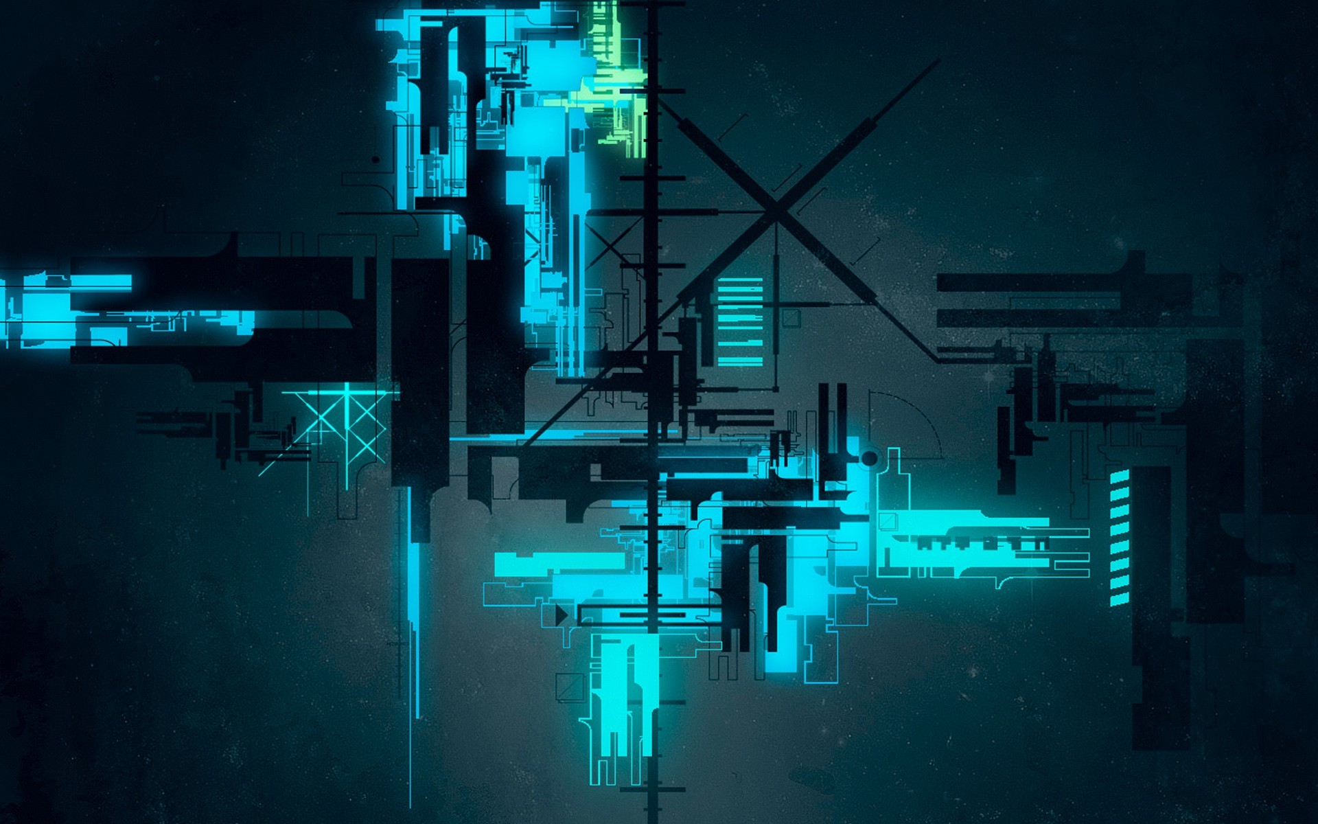 digital Art, Abstract, Lines, CGI, Neon Light, Glowing, Technology,  Geometry Wallpapers HD / Desktop and Mobile Backgrounds